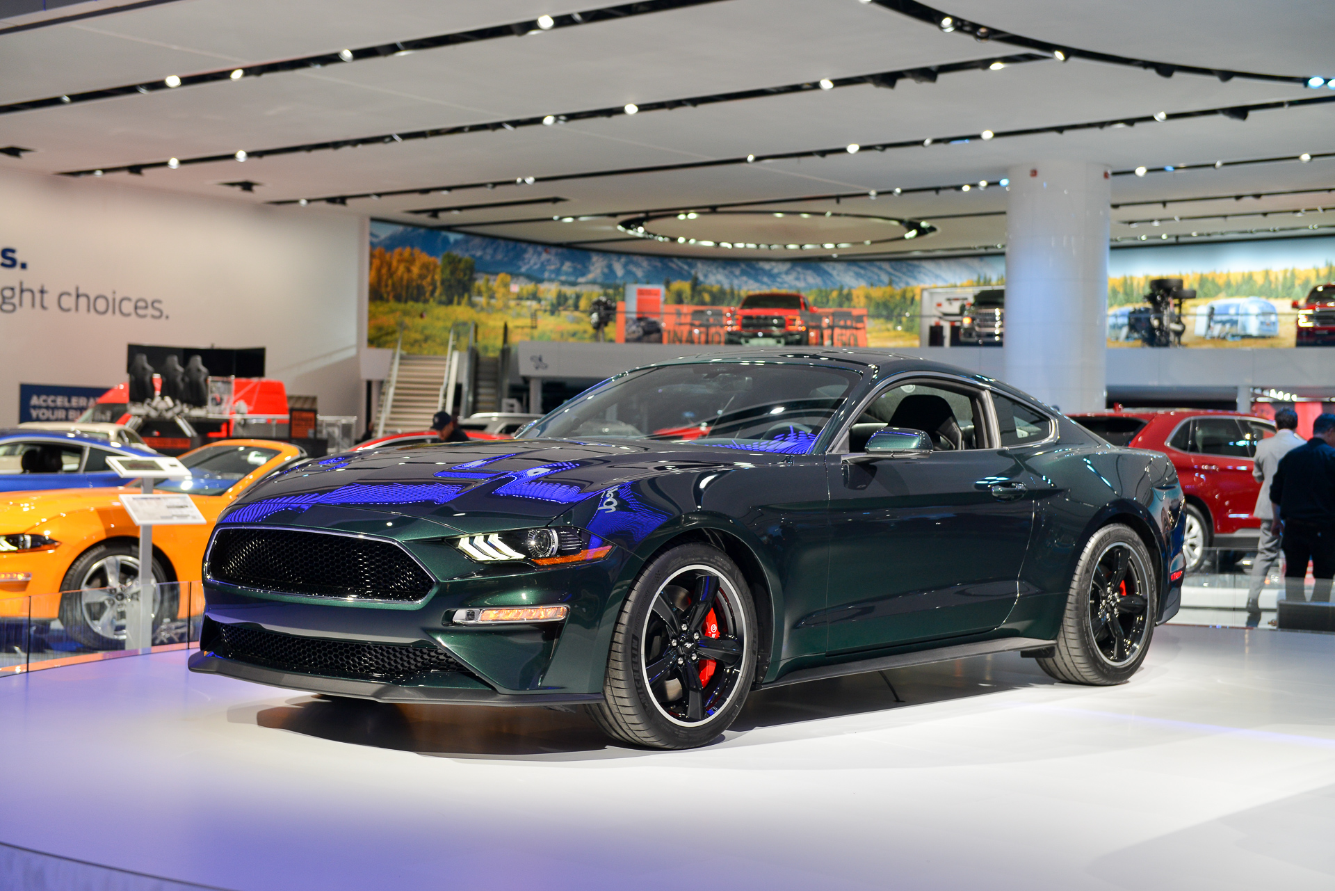 50th anniversary 2019 ford mustang bullitt cranks out 475 horsepower