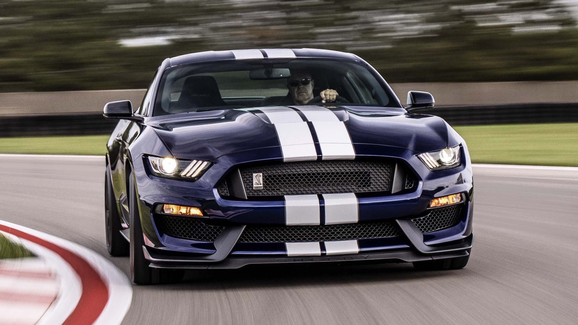 2019 ford mustang shelby gt350 thunders in with upgraded aero tires brakes