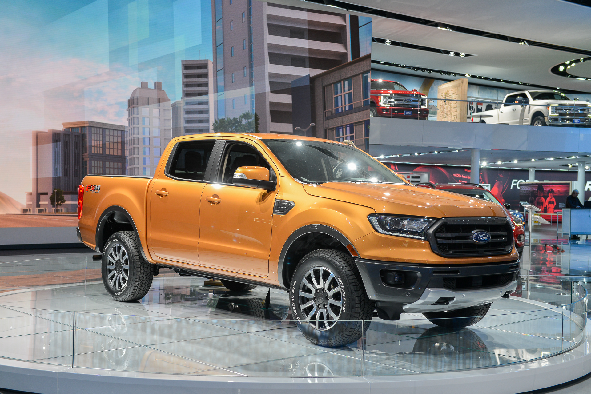 2019 ford ranger pickup truck priced from 25 395. Black Bedroom Furniture Sets. Home Design Ideas