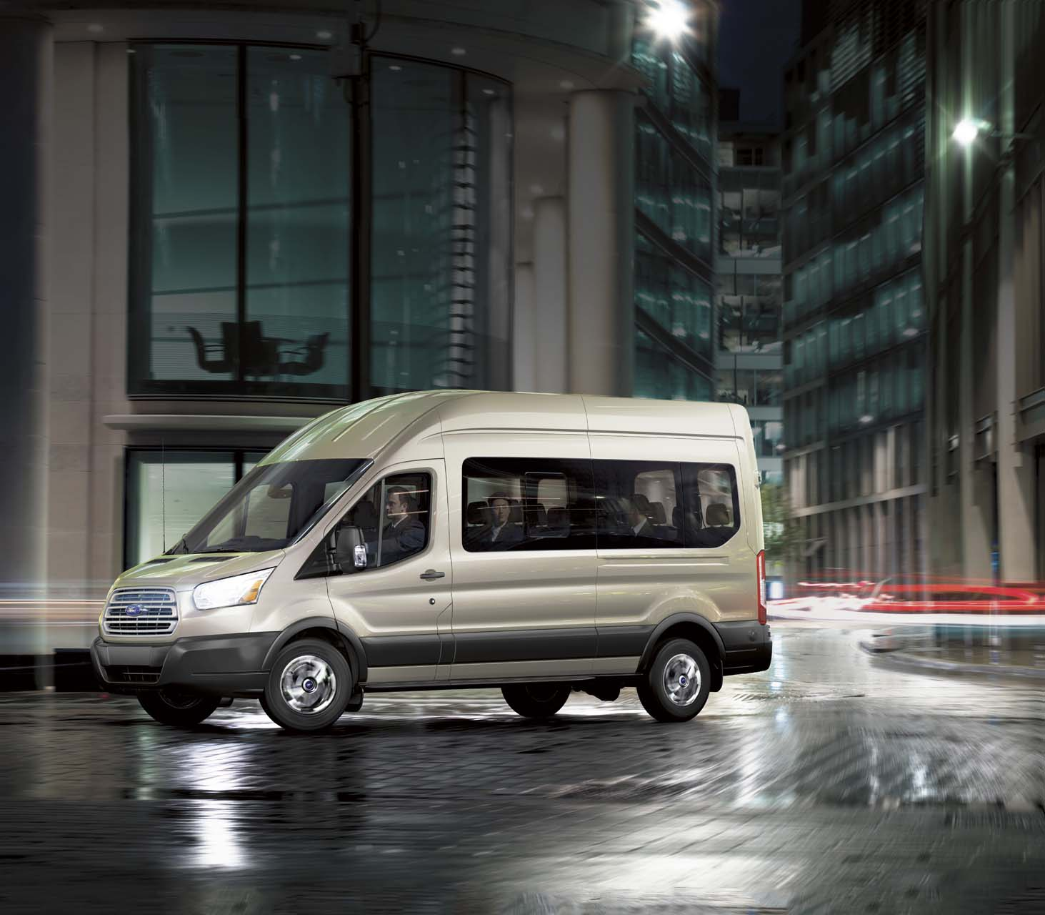 Transit Ford Van: 2019 Ford Transit Passenger Wagon Review, Ratings, Specs