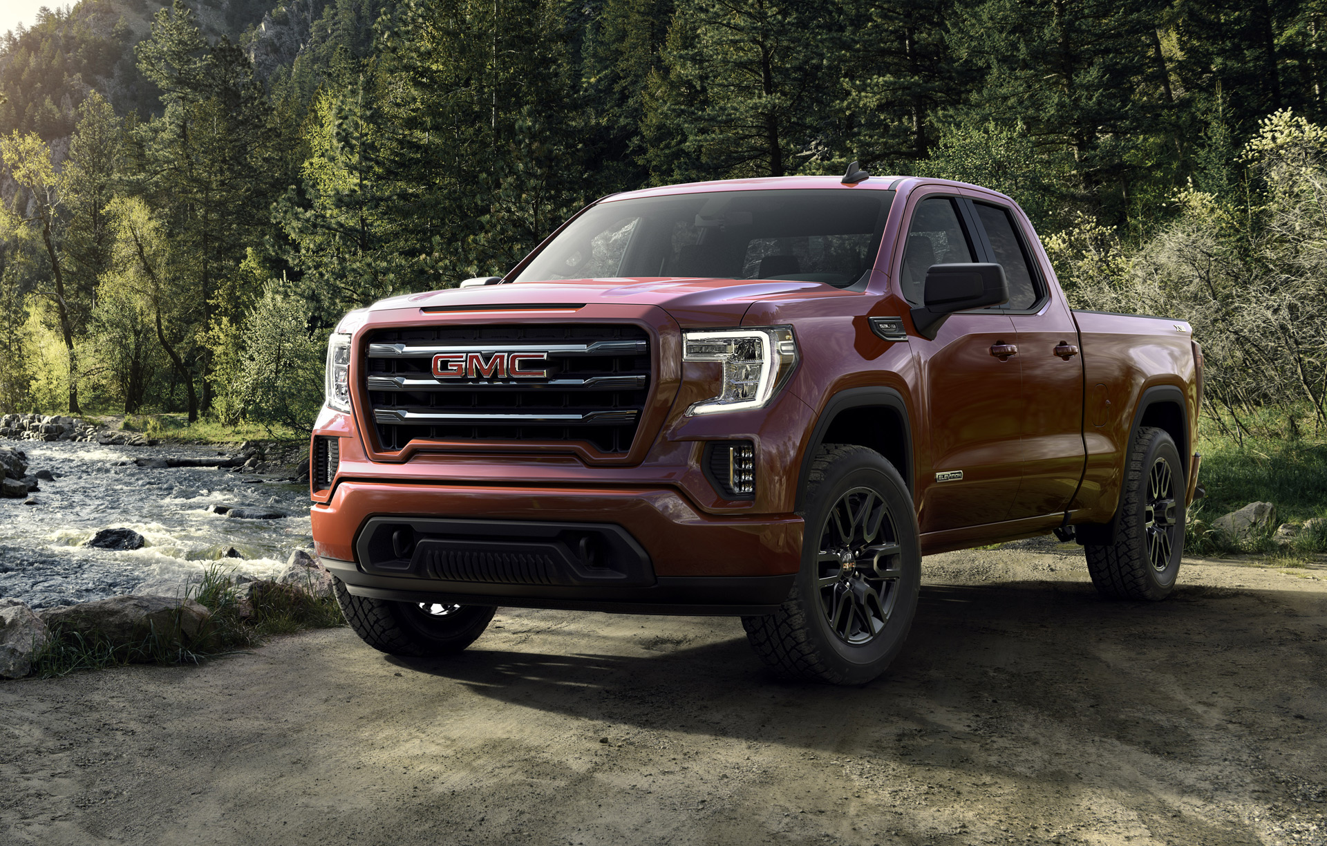2019 Gmc Sierra 1500 Elevation Lifts Style Of Full Size Pickup
