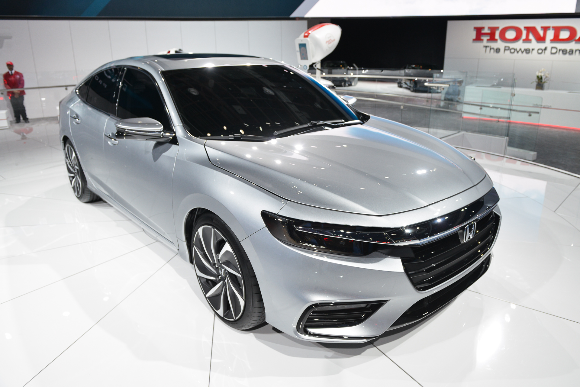 2019 Honda Insight Prototype Debuts In Detroit 50 Mpg Or Better Projected