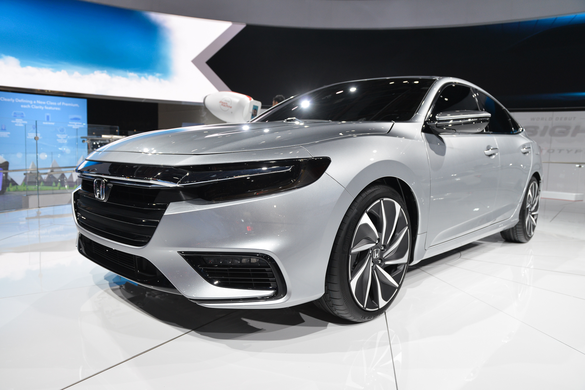 2019 honda insight video preview from detroit auto show. Black Bedroom Furniture Sets. Home Design Ideas