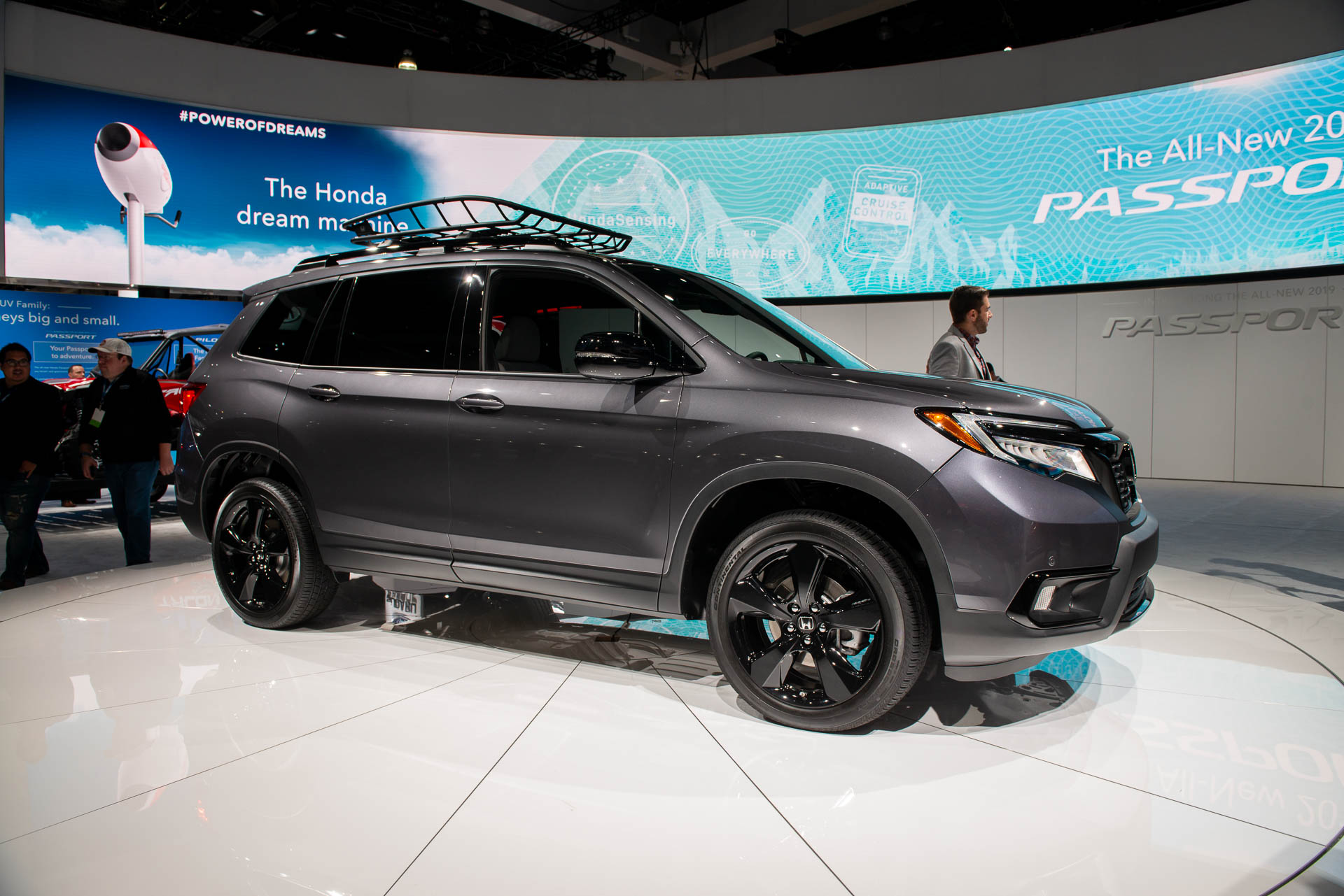2019 Honda Passport Debuts Crossover Suv Stamps Its Docs