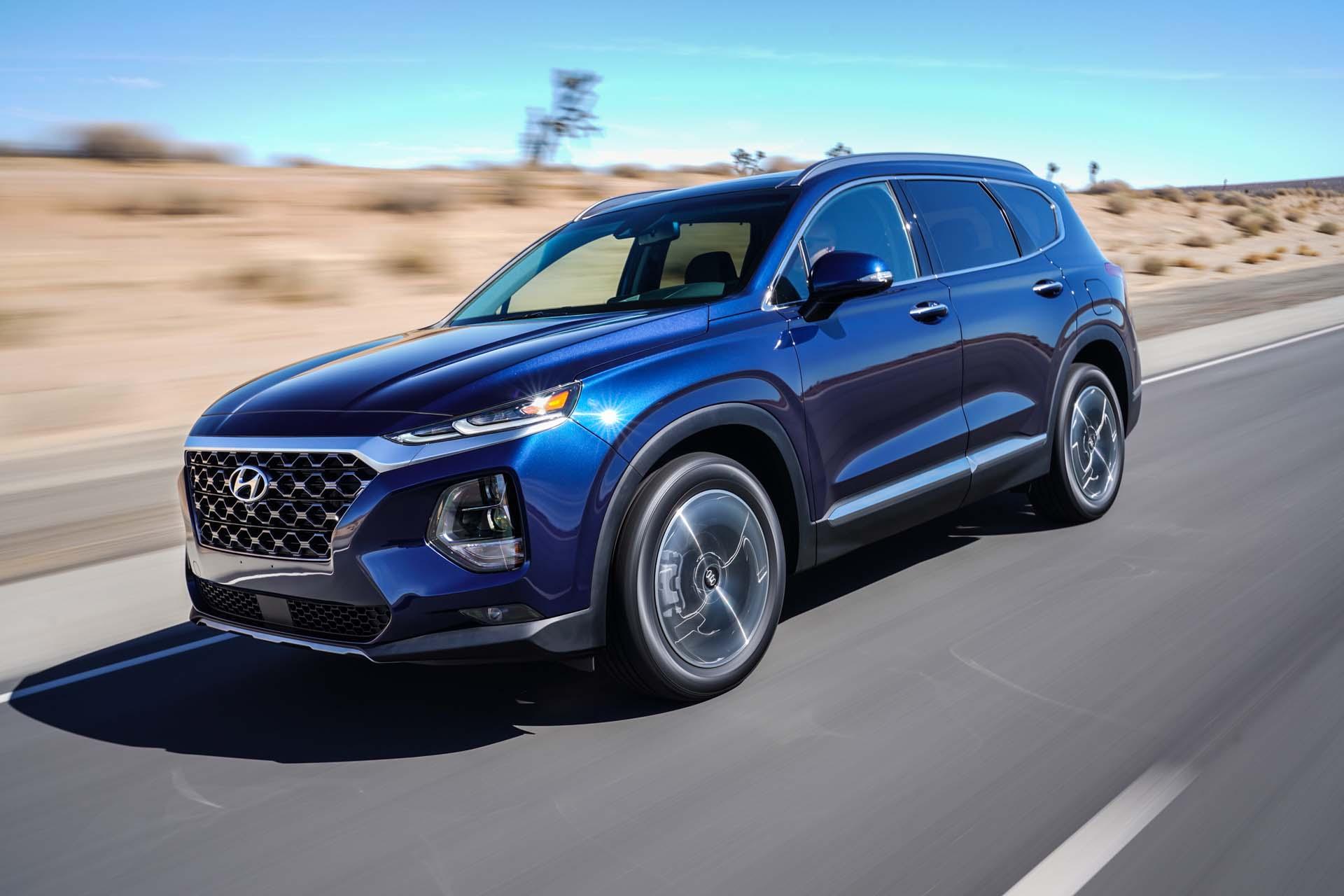 2019 Hyundai Santa Fe Review Ratings Specs Prices And