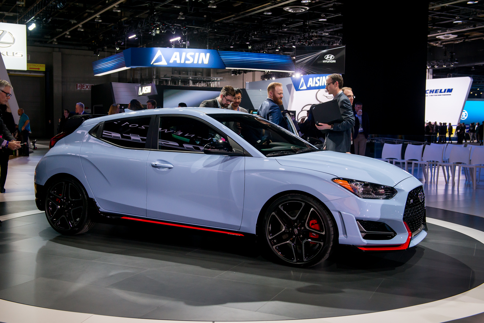 Hyundai Veloster N Video Preview - Hyundai car show