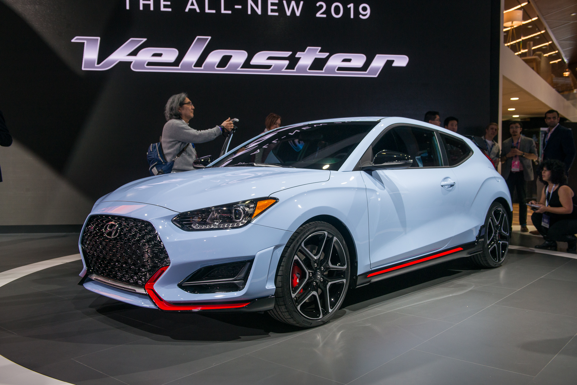 2019 hyundai veloster n marks brand 39 s foray into hot. Black Bedroom Furniture Sets. Home Design Ideas