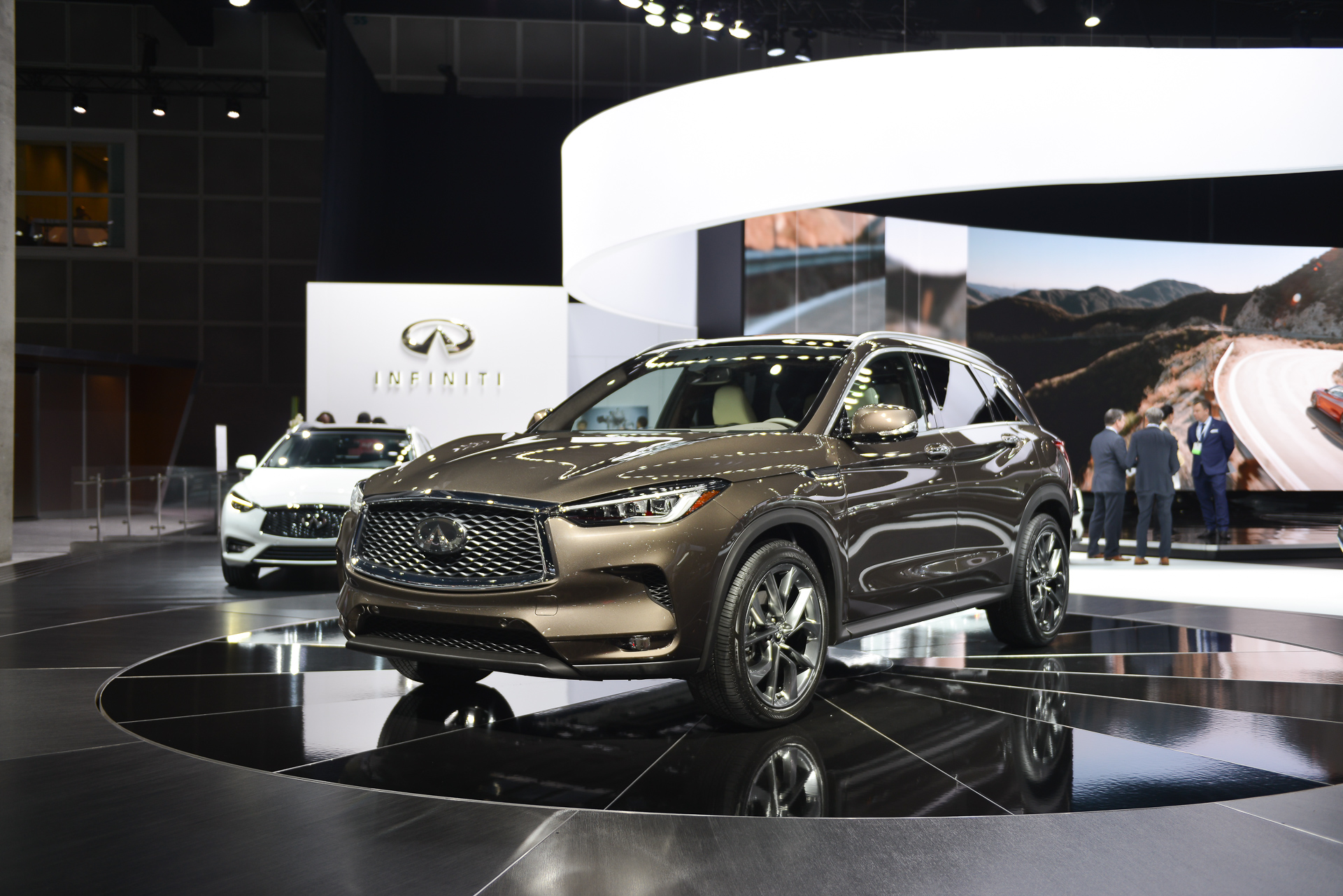 Something in the air 2019 Infiniti QX50 crossover SUV revealed