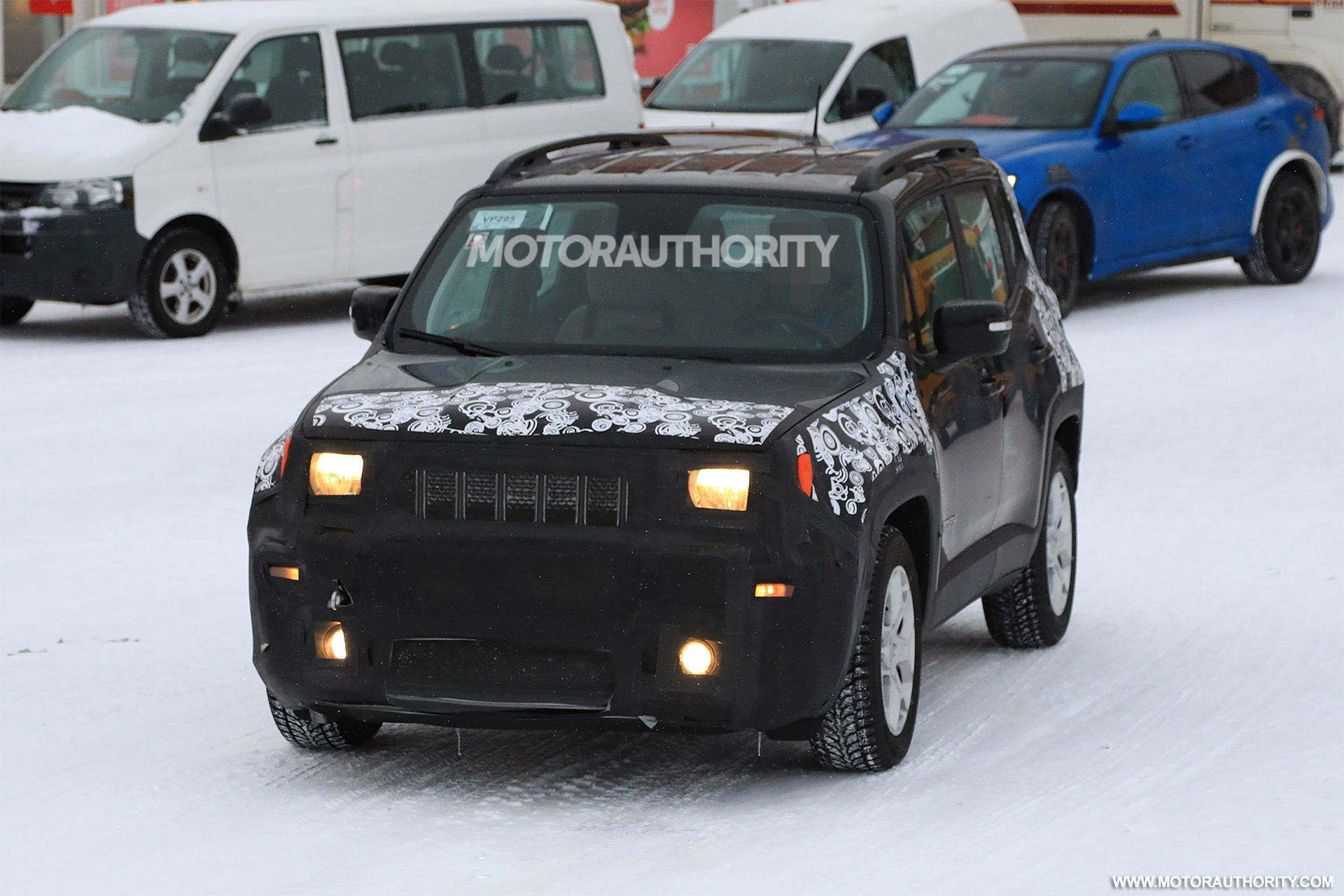 2019 Renegade spy shots