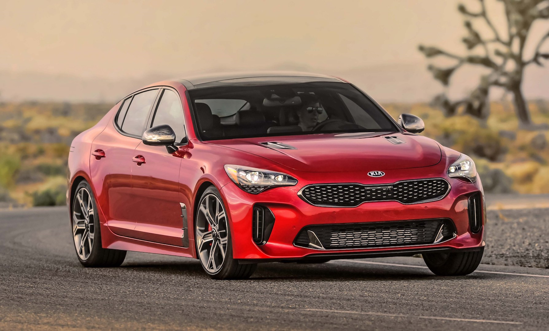 2019 Kia Stinger Review Ratings Specs Prices And Photos The Car Connection