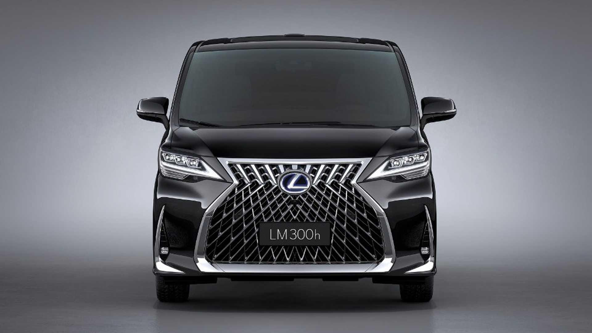 Lexus Lm Minivan Revealed At 2019 Shanghai Auto Show