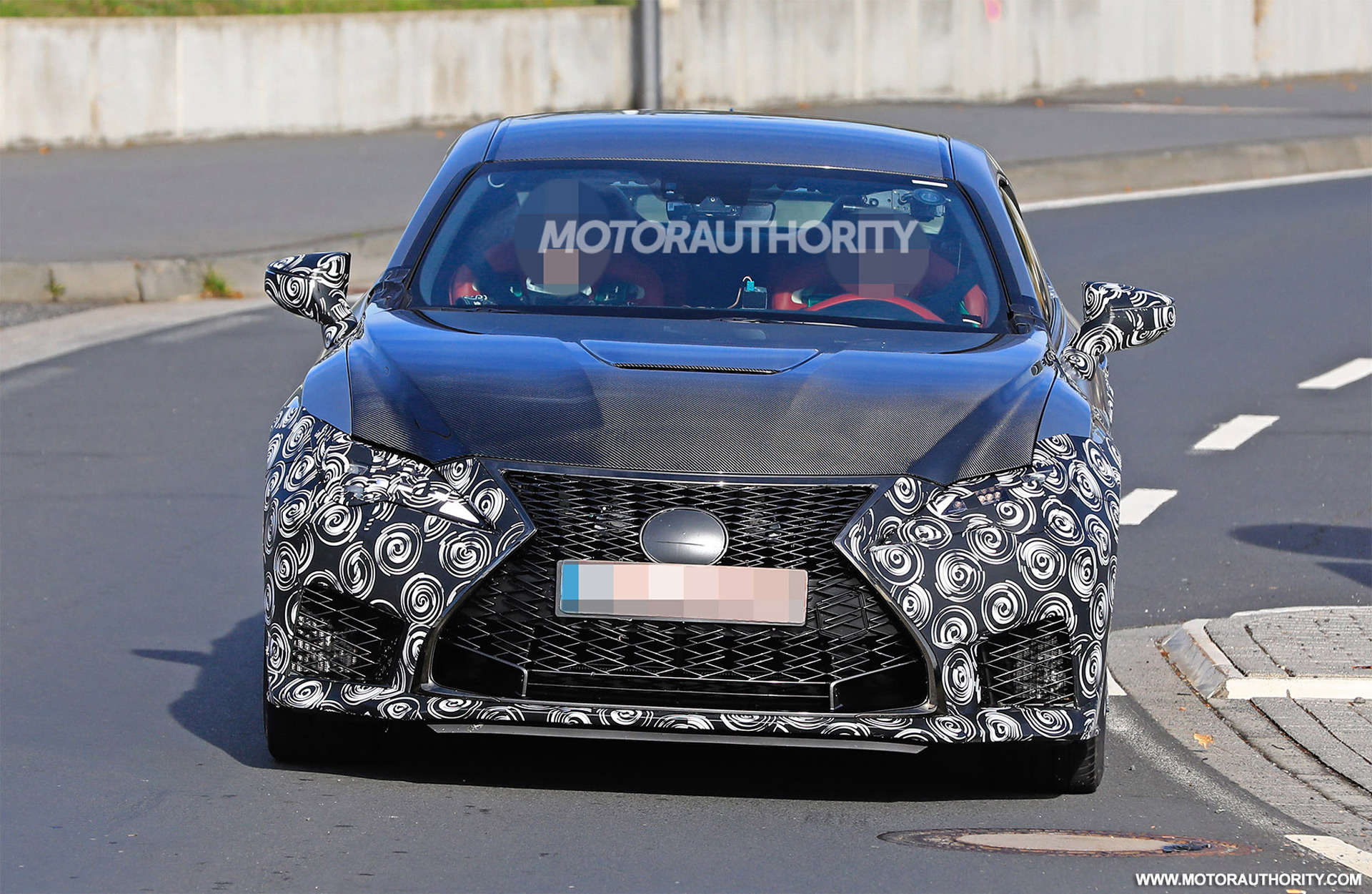2020 Lexus Rc F Track Edition Spy Shots