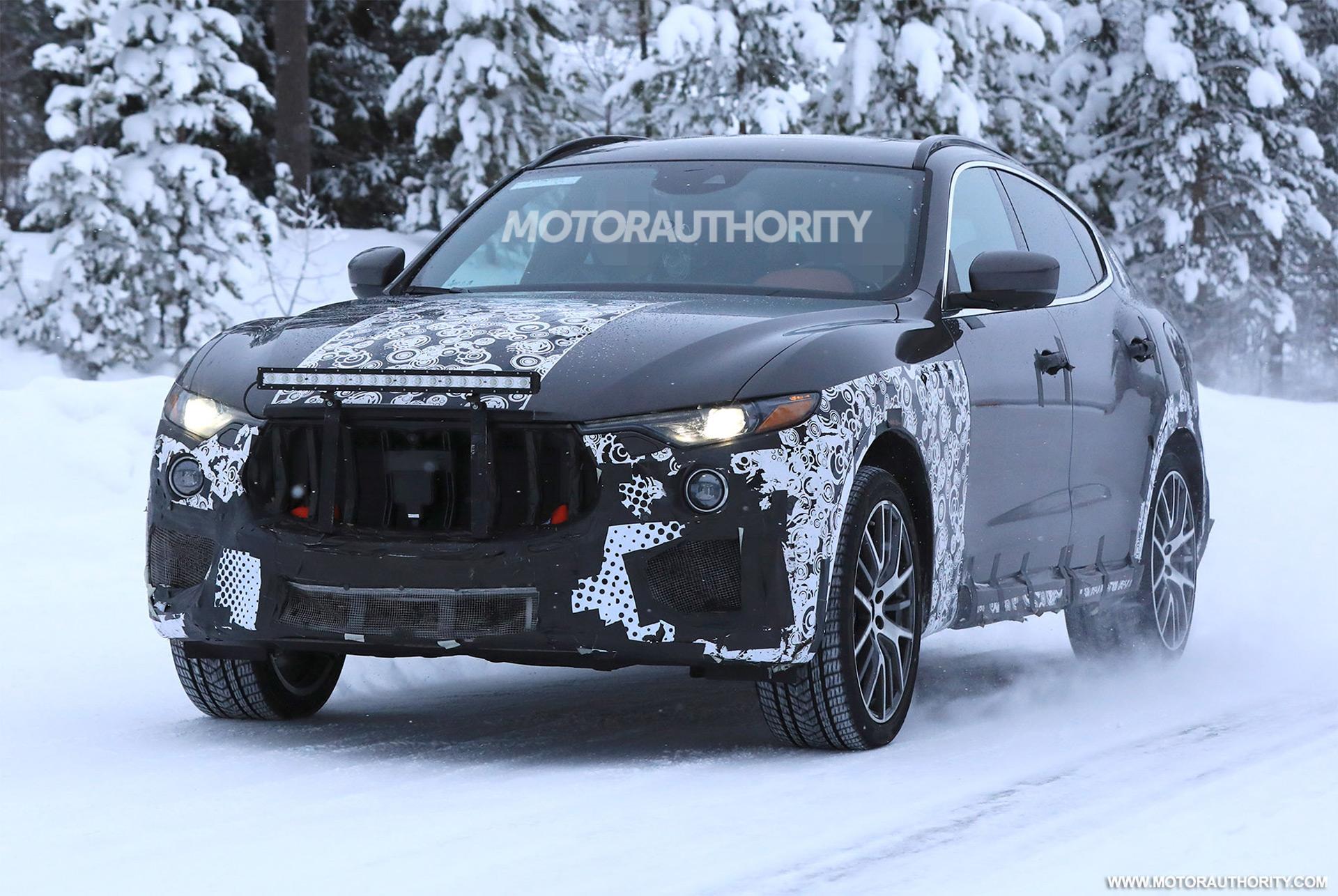 Maserati 2019 >> 2019 Maserati Levante Gts Spy Shots