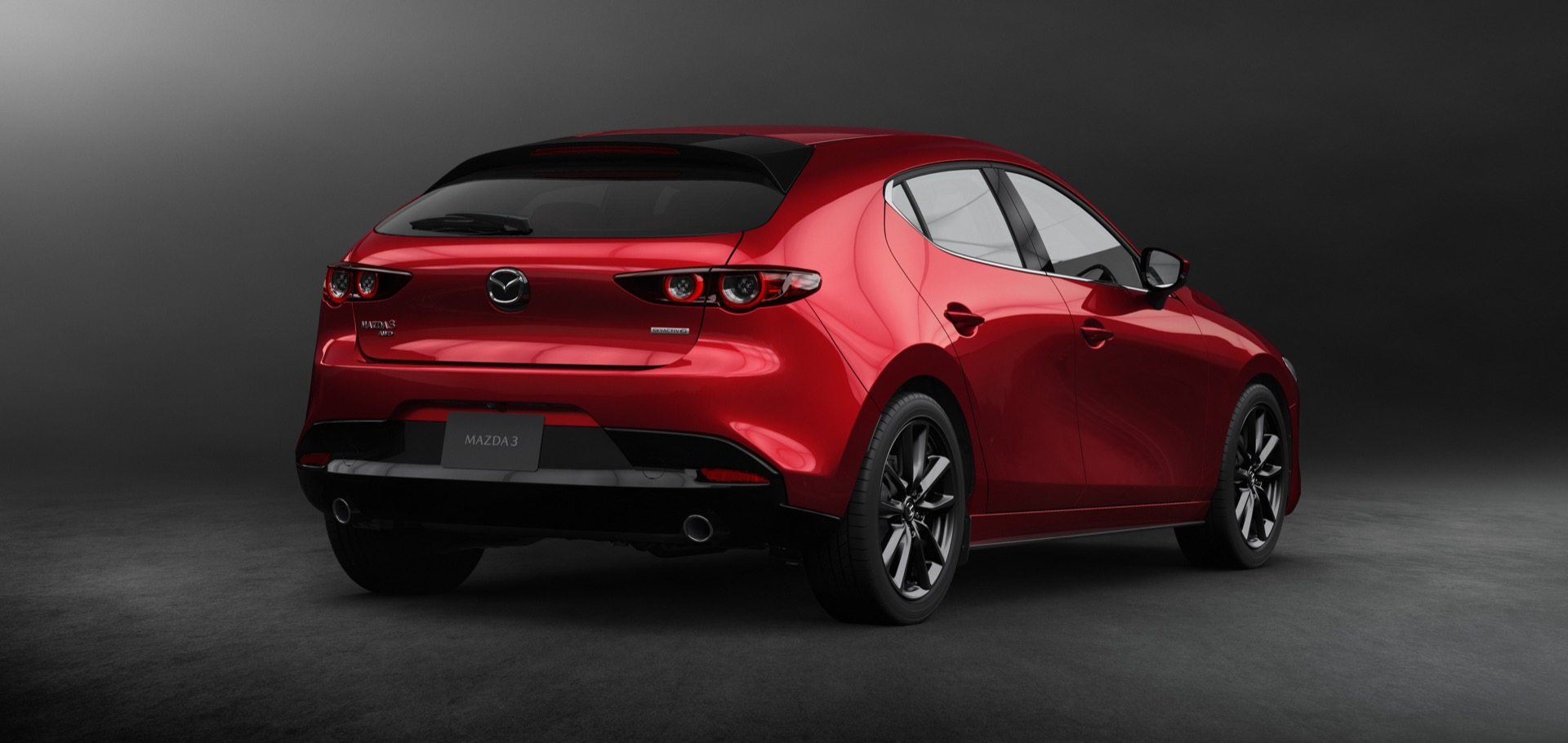 2019 mazda 3 brings premium looks tech to compact segment. Black Bedroom Furniture Sets. Home Design Ideas
