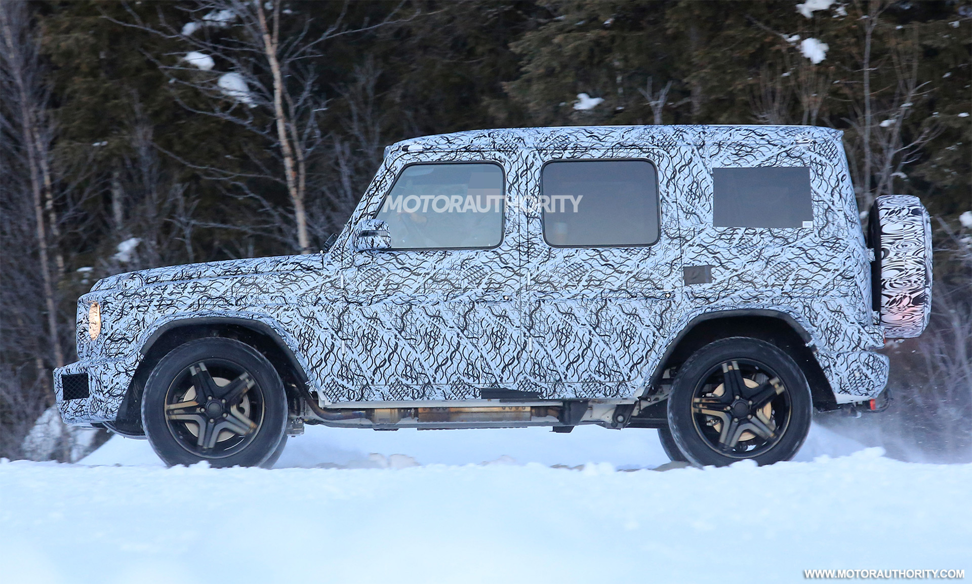 2019 Mercedes Amg G63 Spy Shots And Video