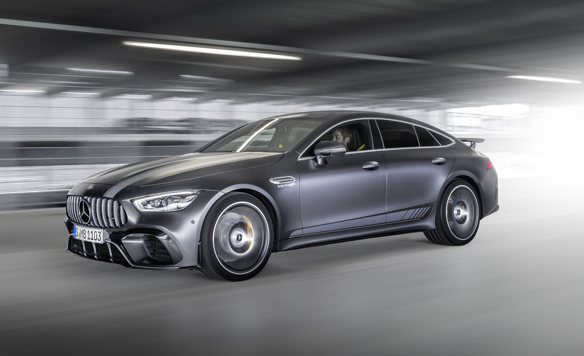 2019 Mercedes Amg Gt 4 Door Coupe Gets Edition 1 Treatment