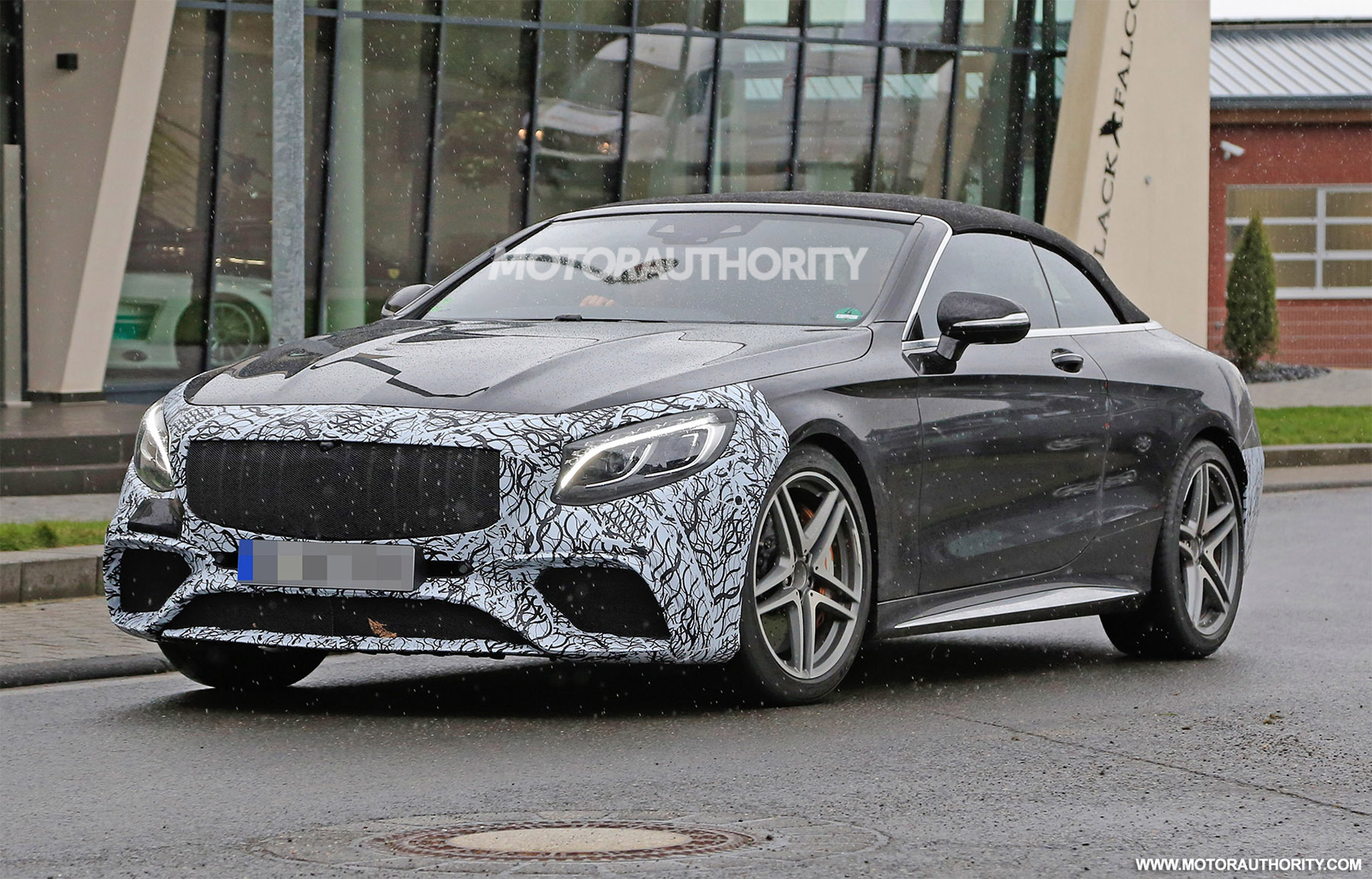 2019 mercedes amg s63 cabriolet spy shots. Black Bedroom Furniture Sets. Home Design Ideas