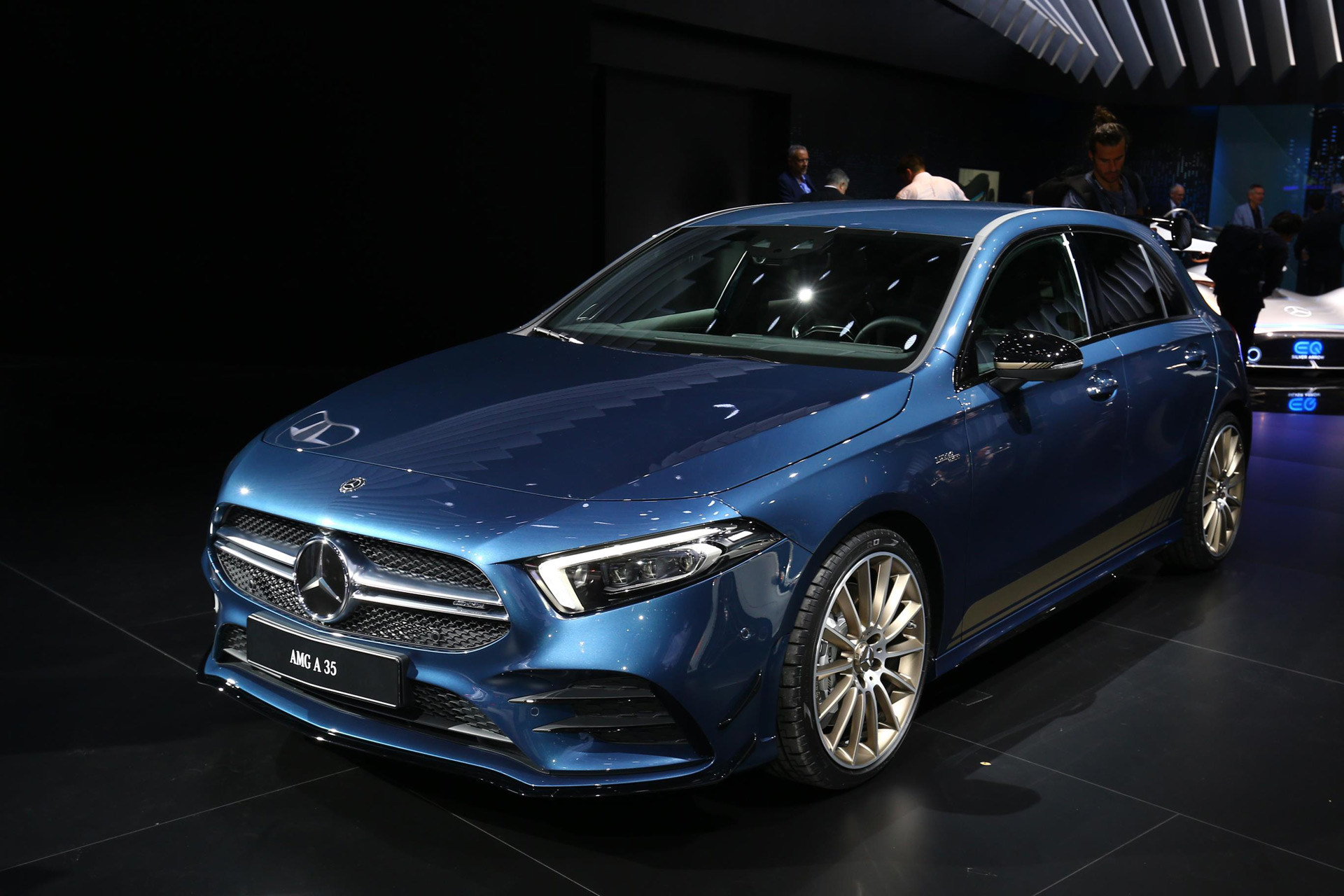 2019 Mercedes Amg A35 Hot Hatch Revealed With 302 Horsepower