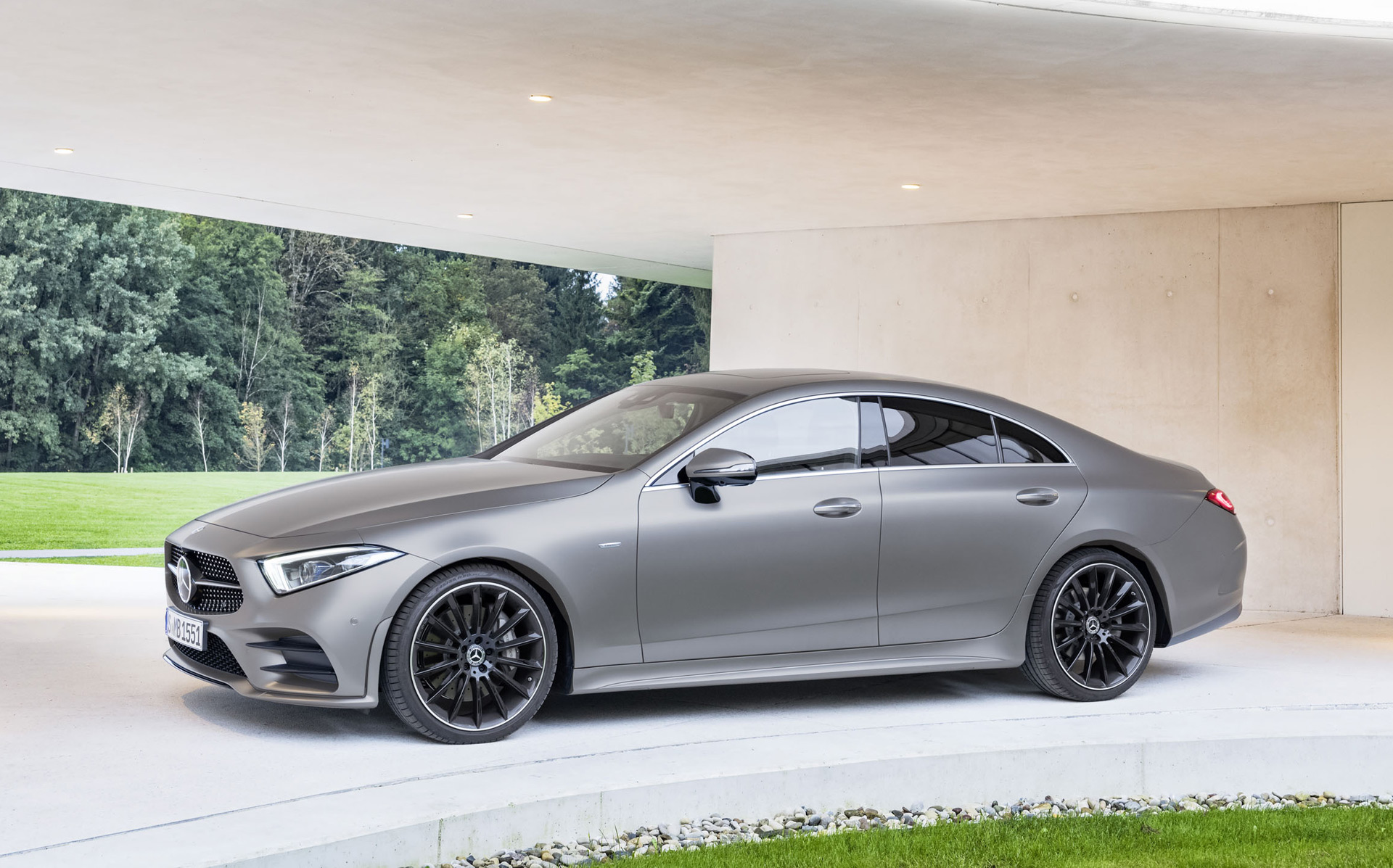2019 mercedes benz cls class review ratings specs prices and photos the car connection. Black Bedroom Furniture Sets. Home Design Ideas