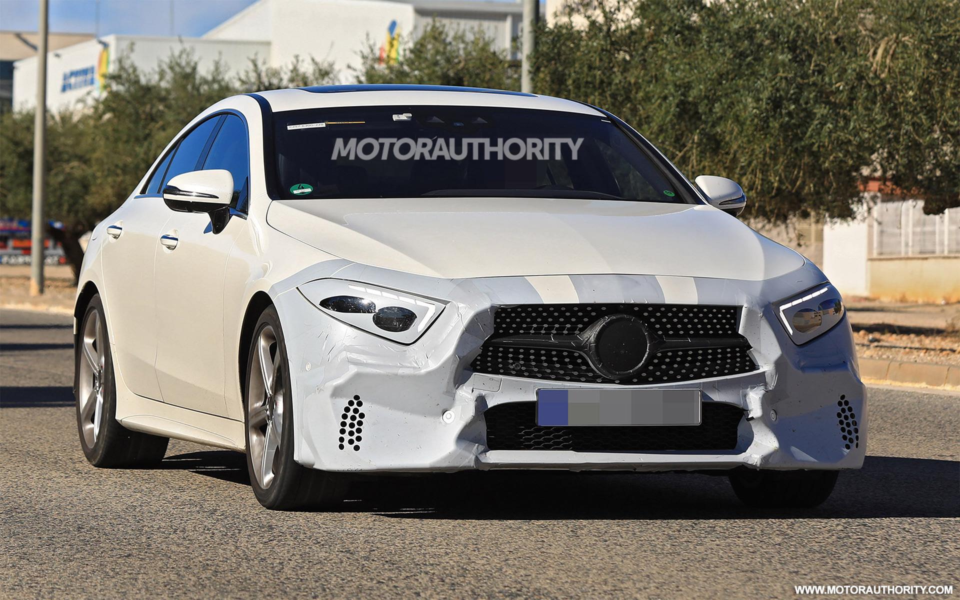 2019 Mercedes Benz Cls Spy Shots And Video