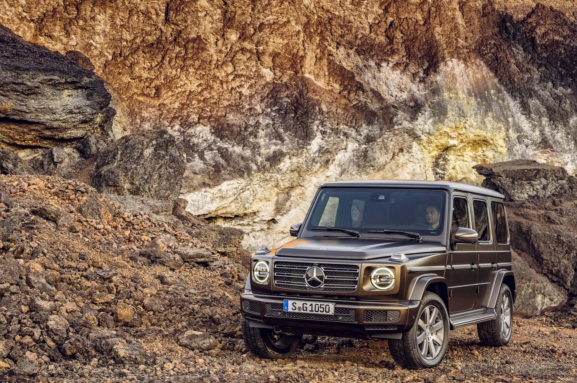 How Mercedes Made The 2019 G Class Cue Up The Original
