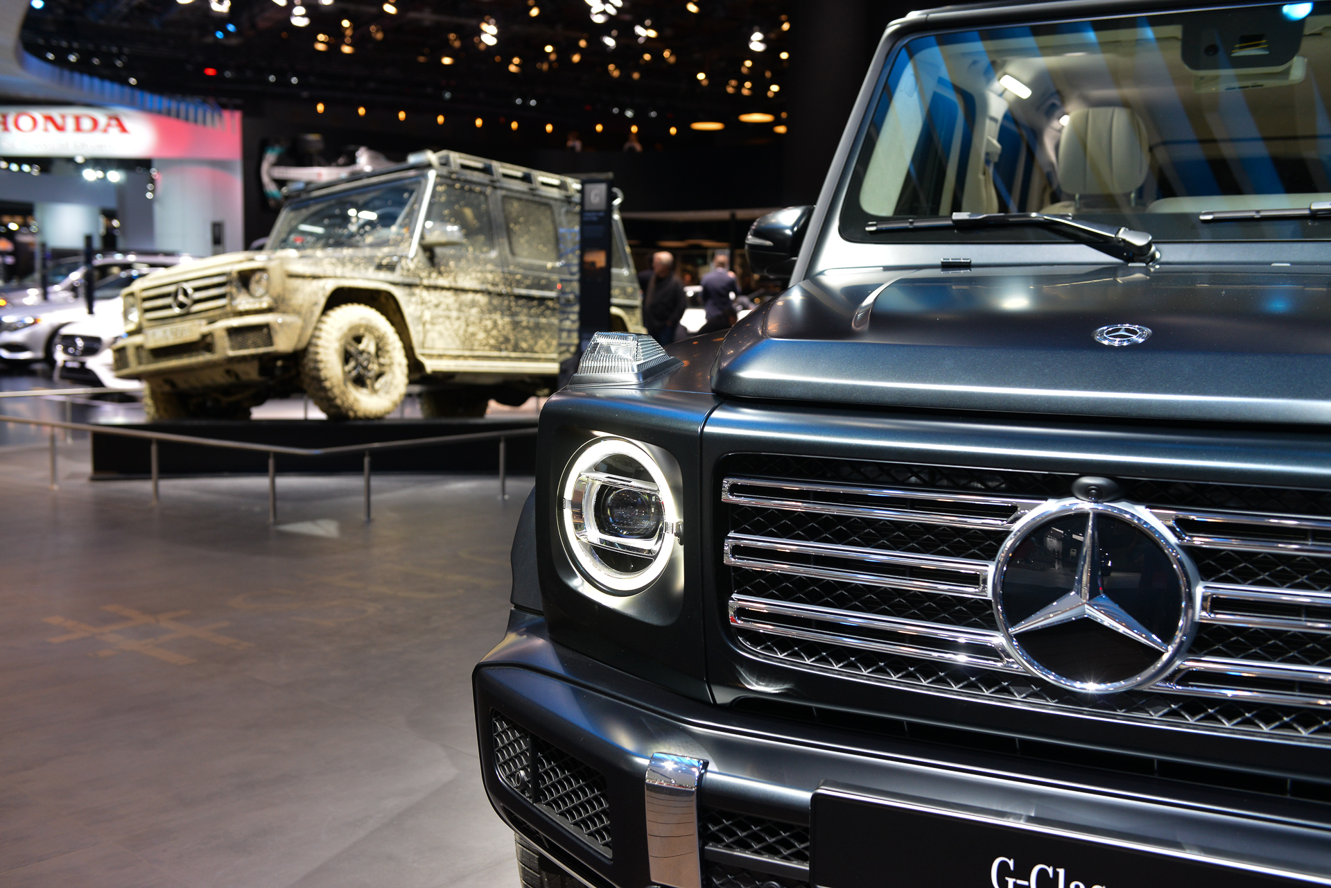 The 11 most important cars of the 2018 detroit auto show for Mercedes benz g500