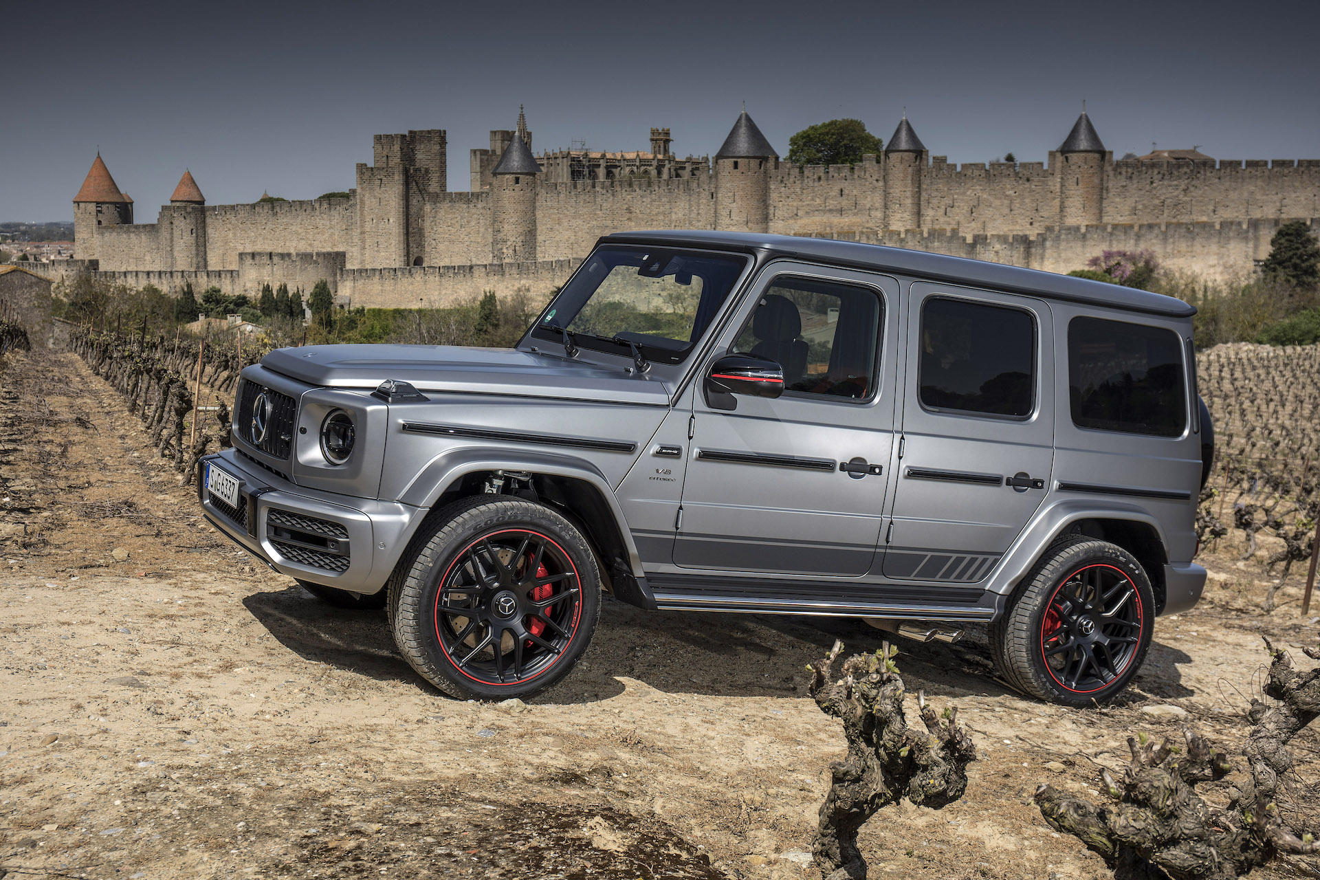 2019 Mercedes Benz G550 And Amg G63 First Drive Review Flying Bricks Off Road Tricks