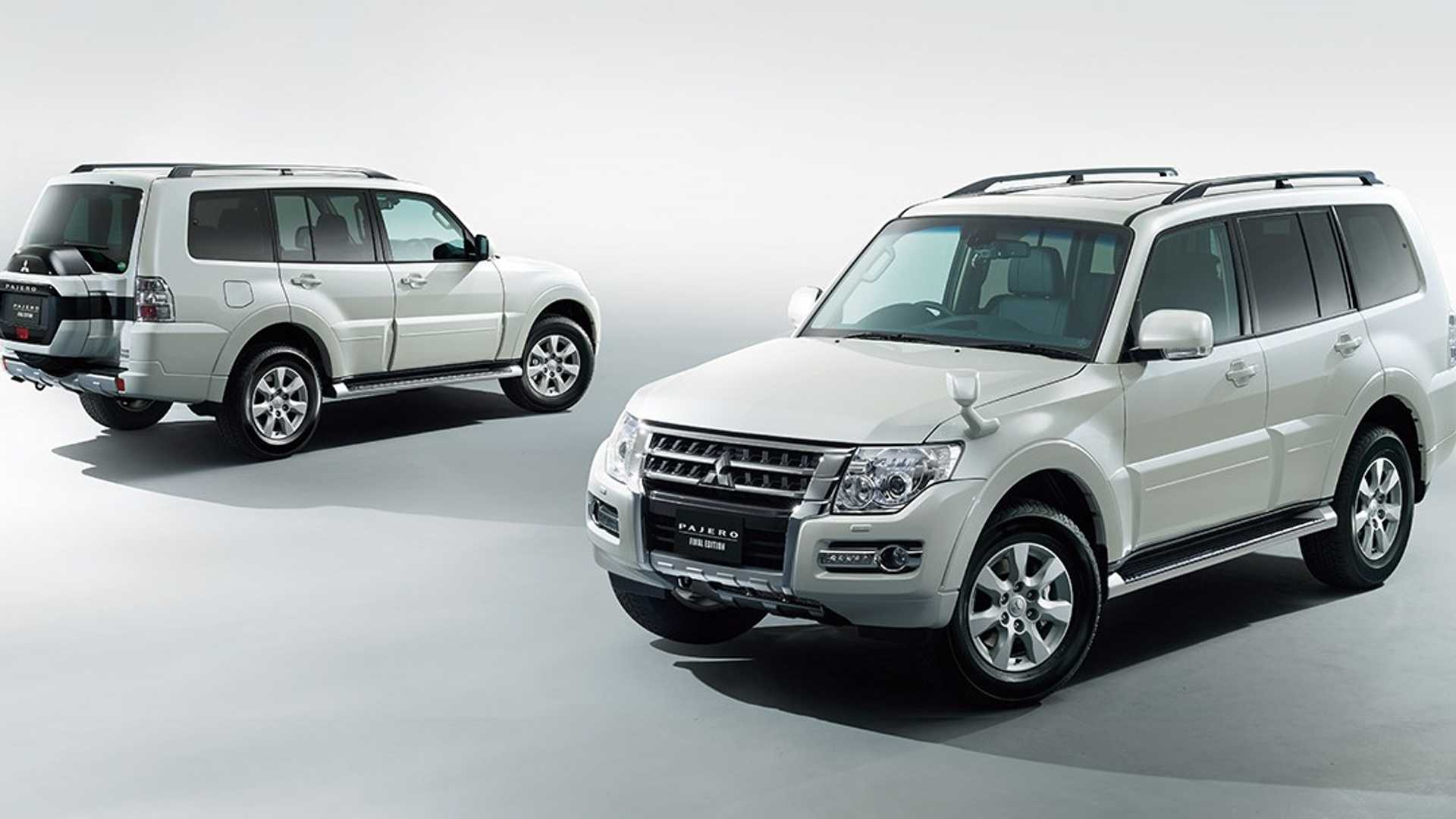 Mitsubishi Pajero Final Edition Revealed For Japan, But