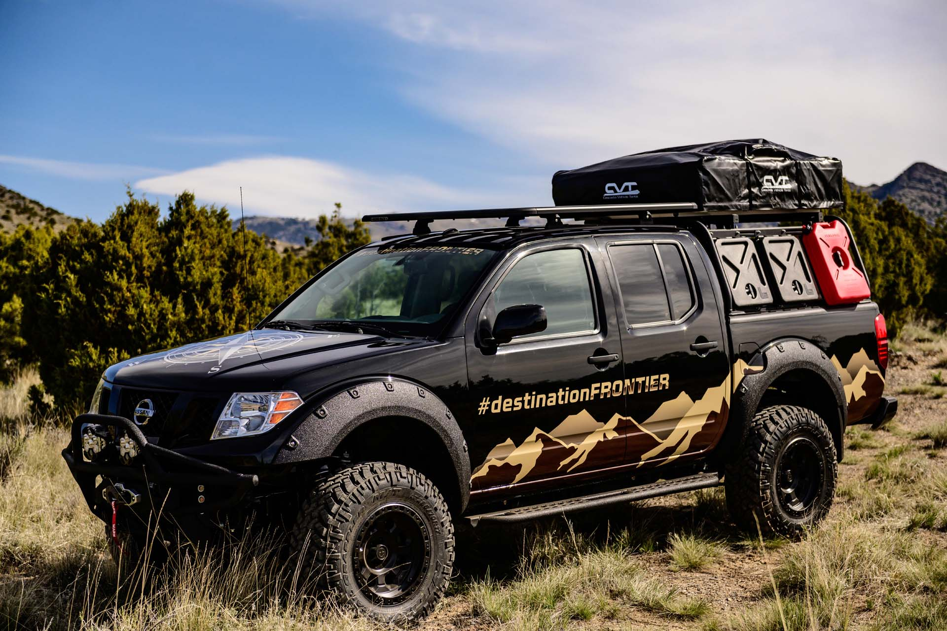 Custom Nissan Frontier >> Overlander Nissan Frontier Truck Has Its Compass Pointed To The