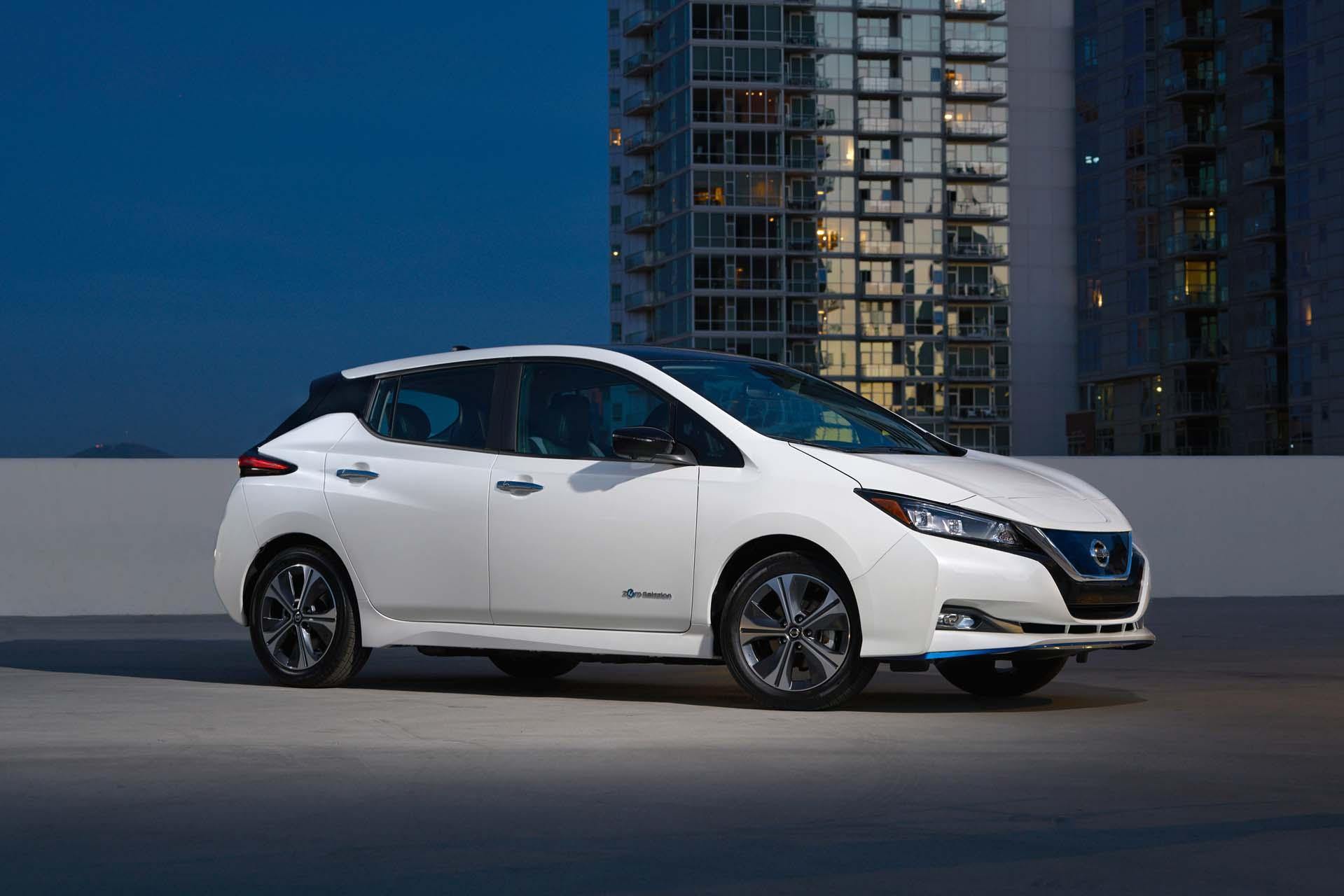 226 Mile 2019 Nissan Leaf Plus Costs 37445 To Start