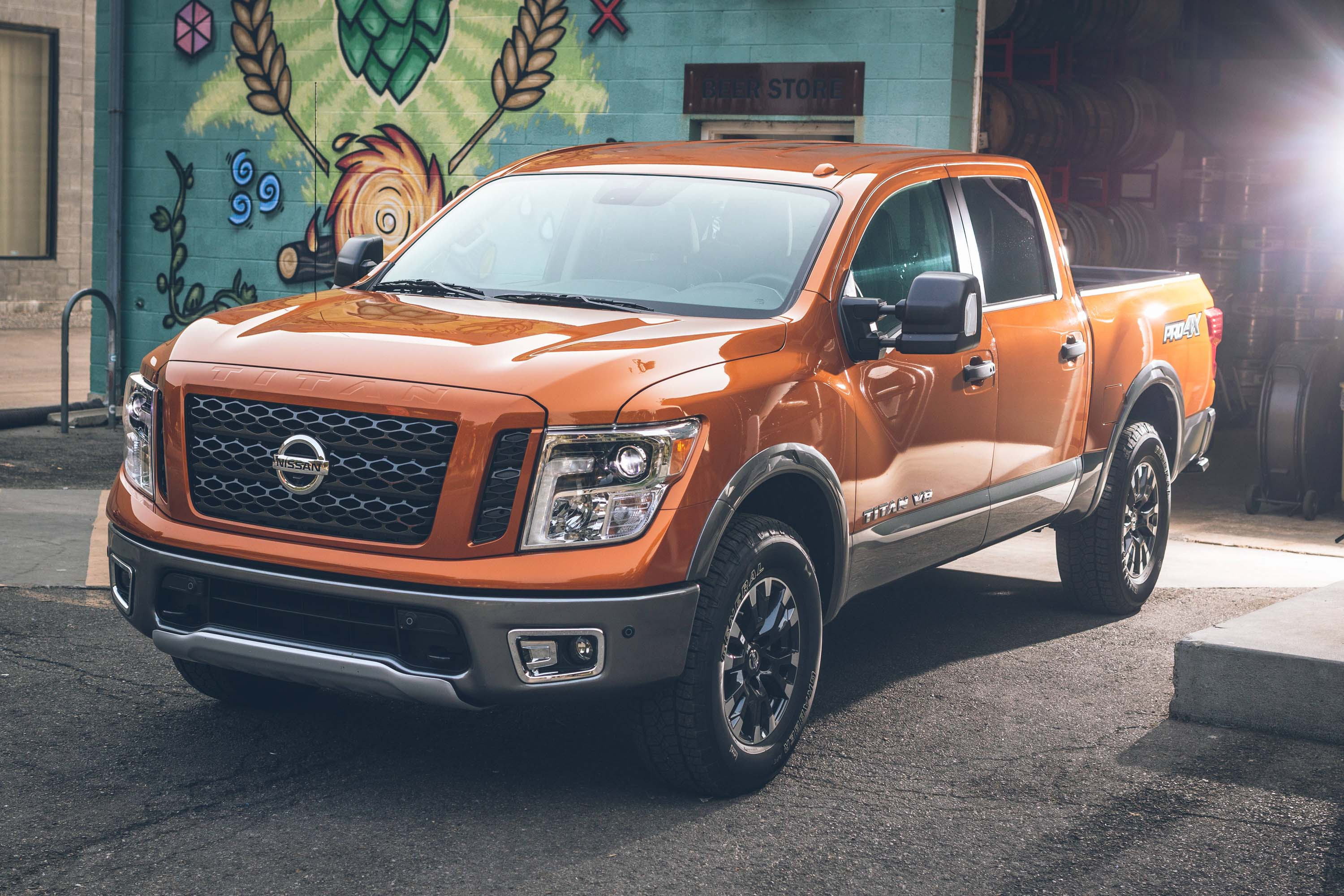 2019 Nissan Titan And Titan Xd S New Apple Android