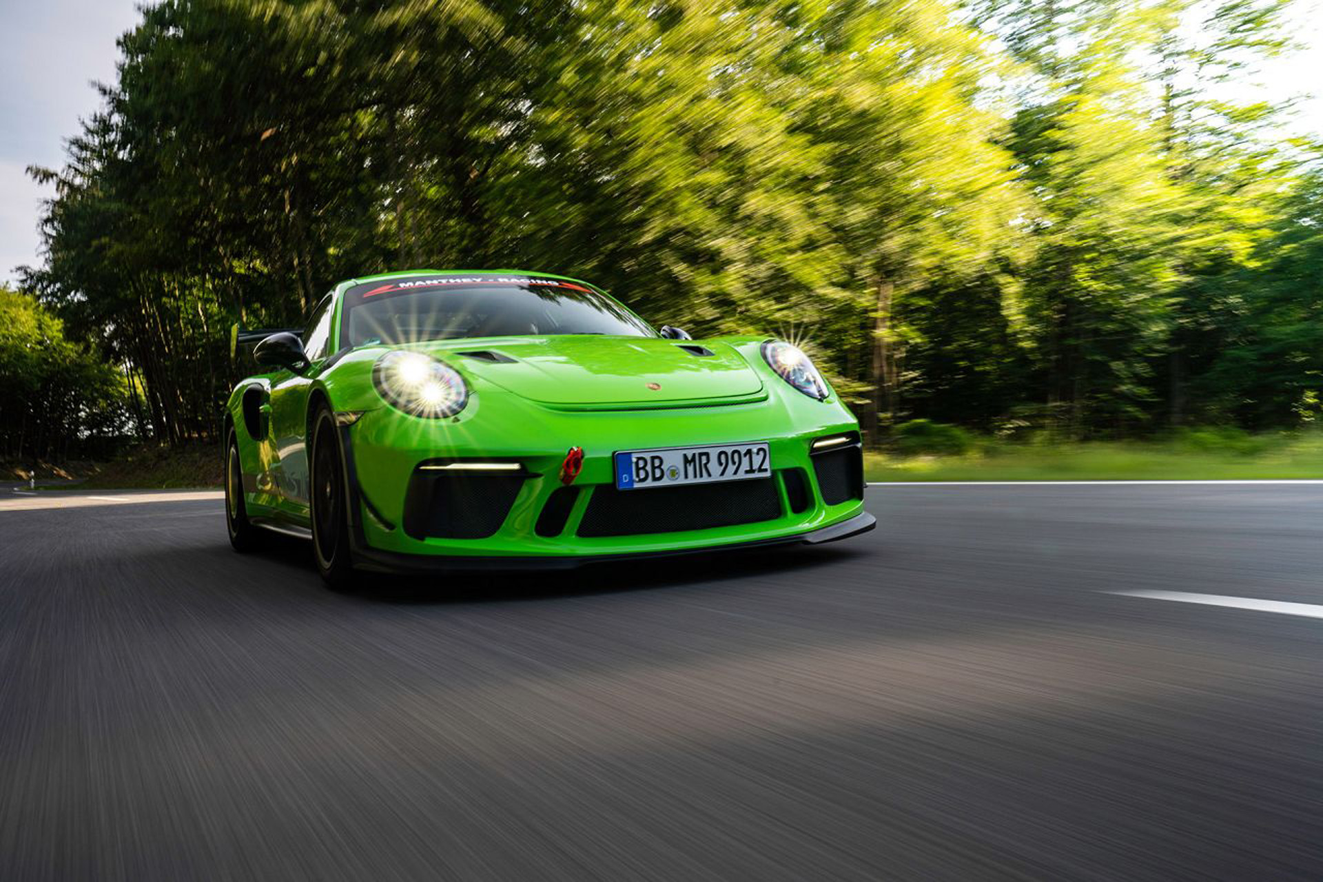Manthey-Racing rolls out upgrades for the 991 Porsche 911 GT3 RS - Motor Authority