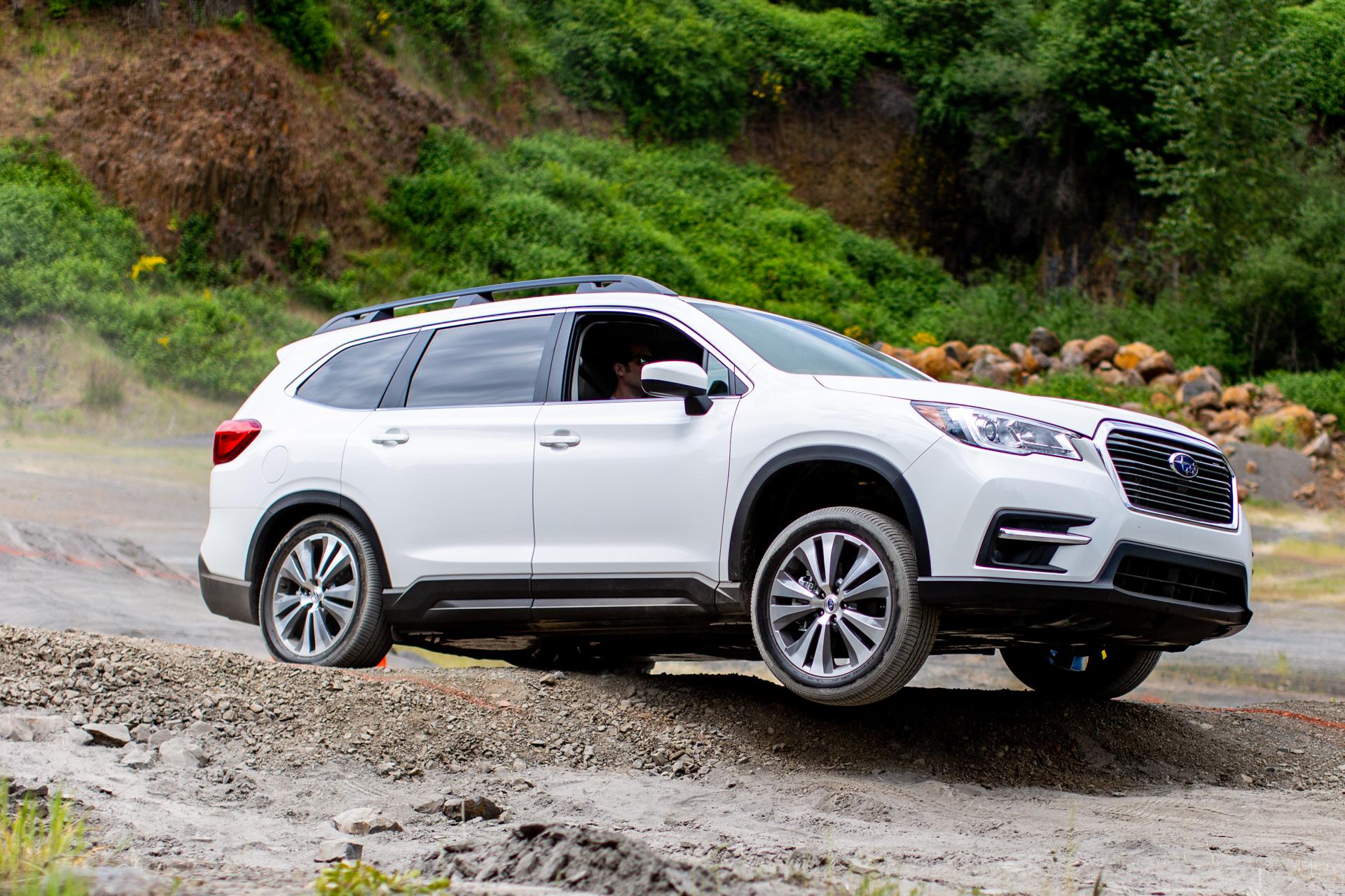 2019 Subaru Ascent Review Vw S Enthusiast Push Tesla