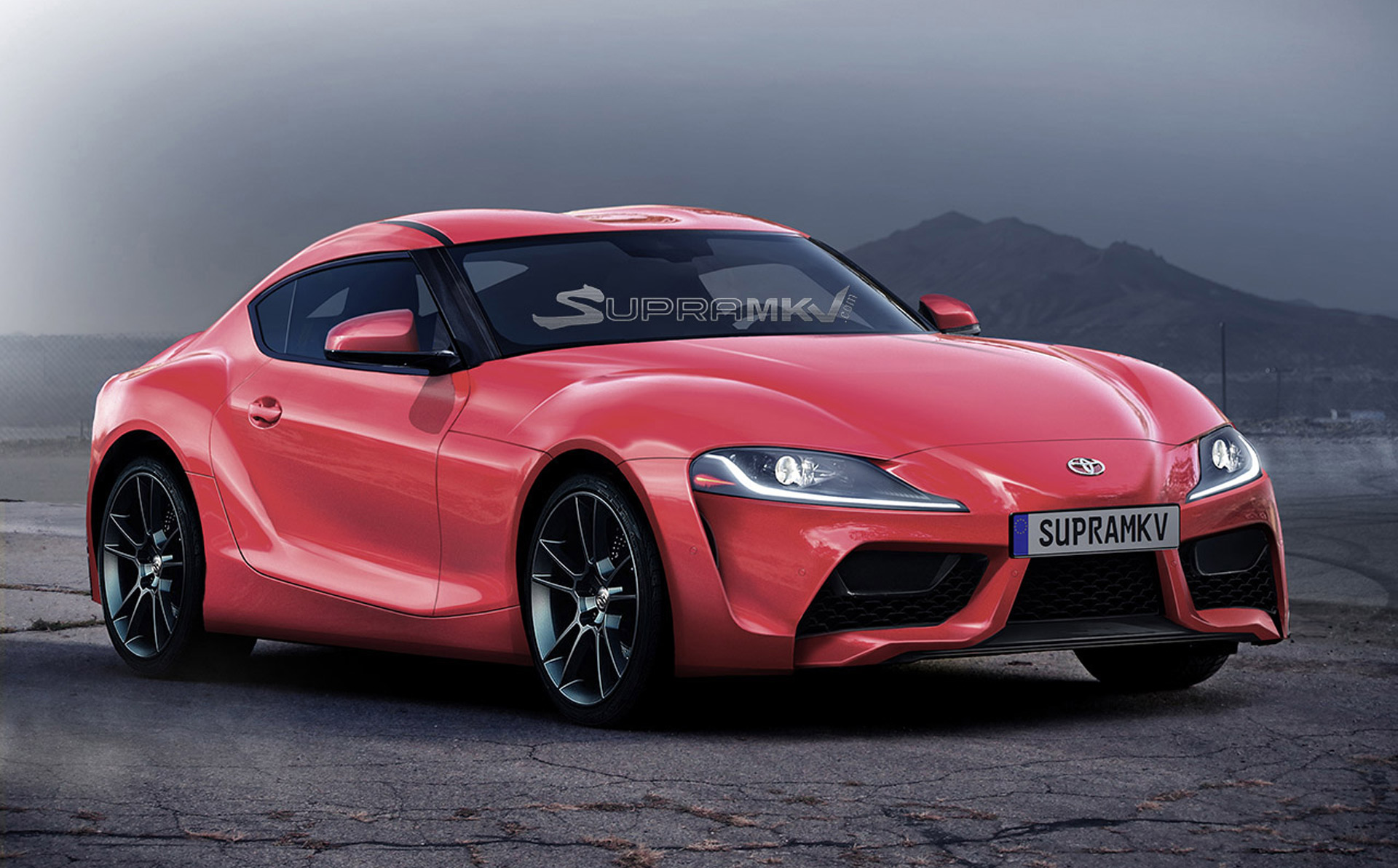 Right For Left New Toyota Supra Headed To Nascar Reports Say