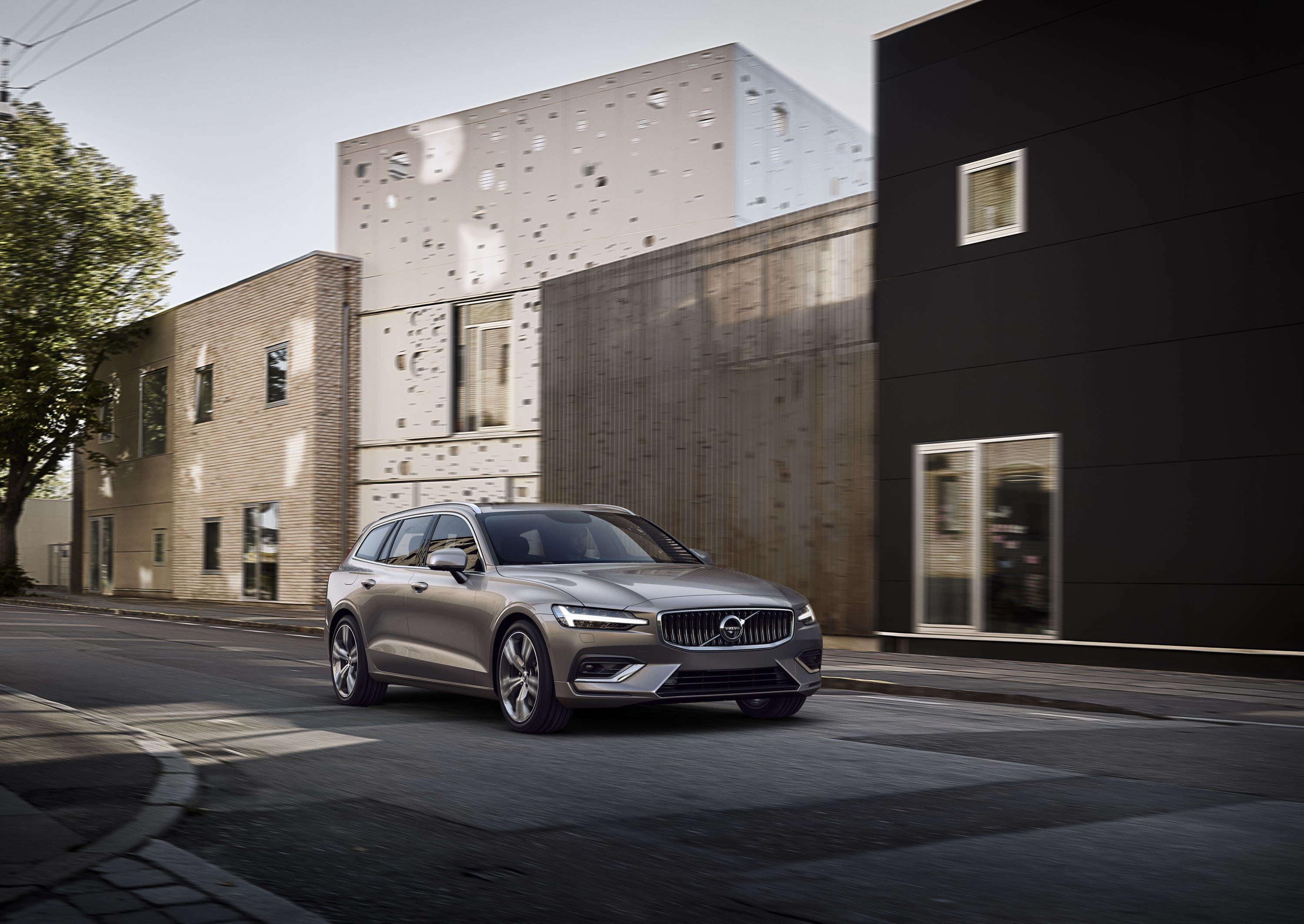 new 2019 volvo v60 first look  volvo hitches its wagon to its own rising star