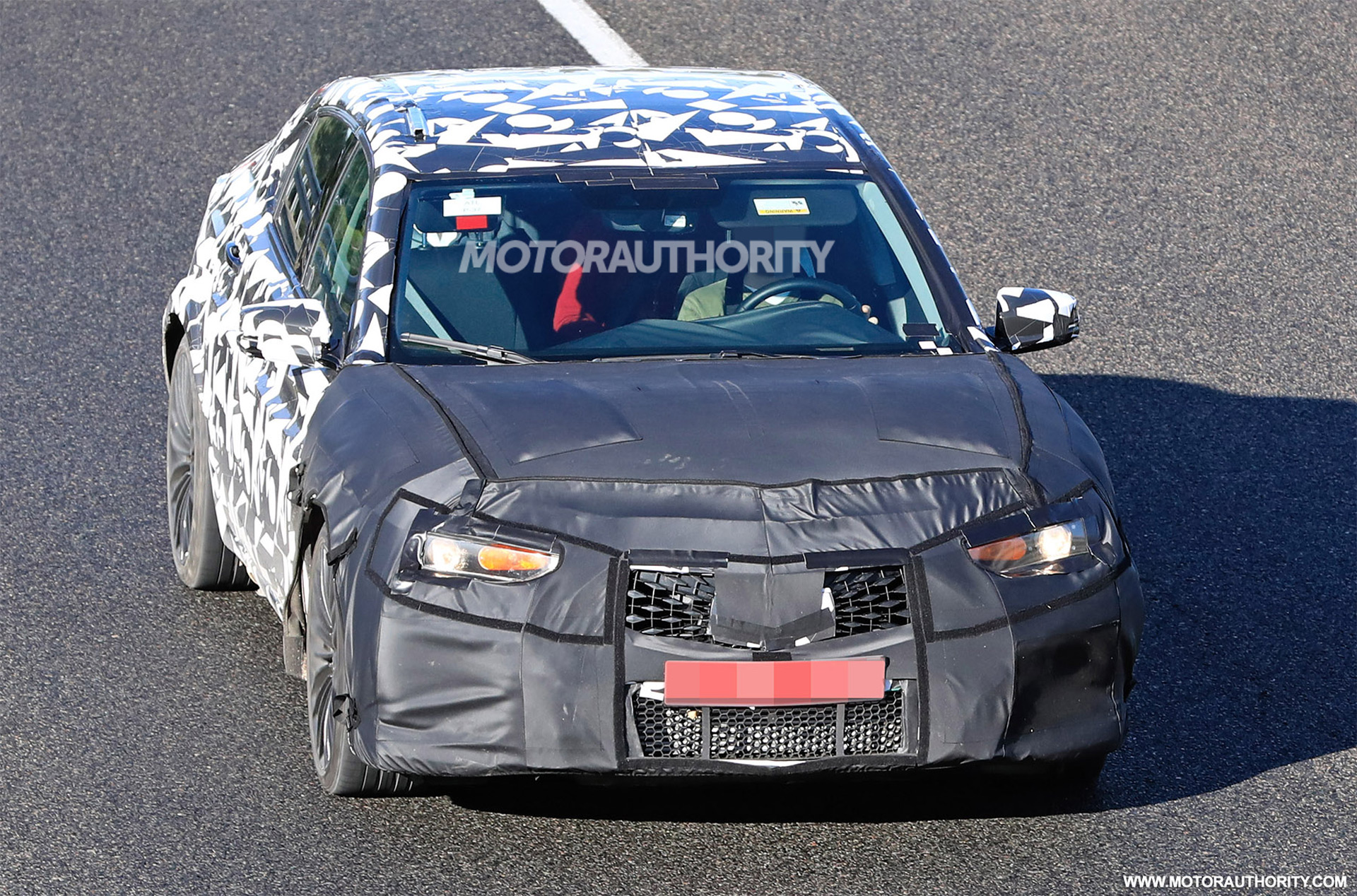 2020 Acura Tlx Type S Spy Shots