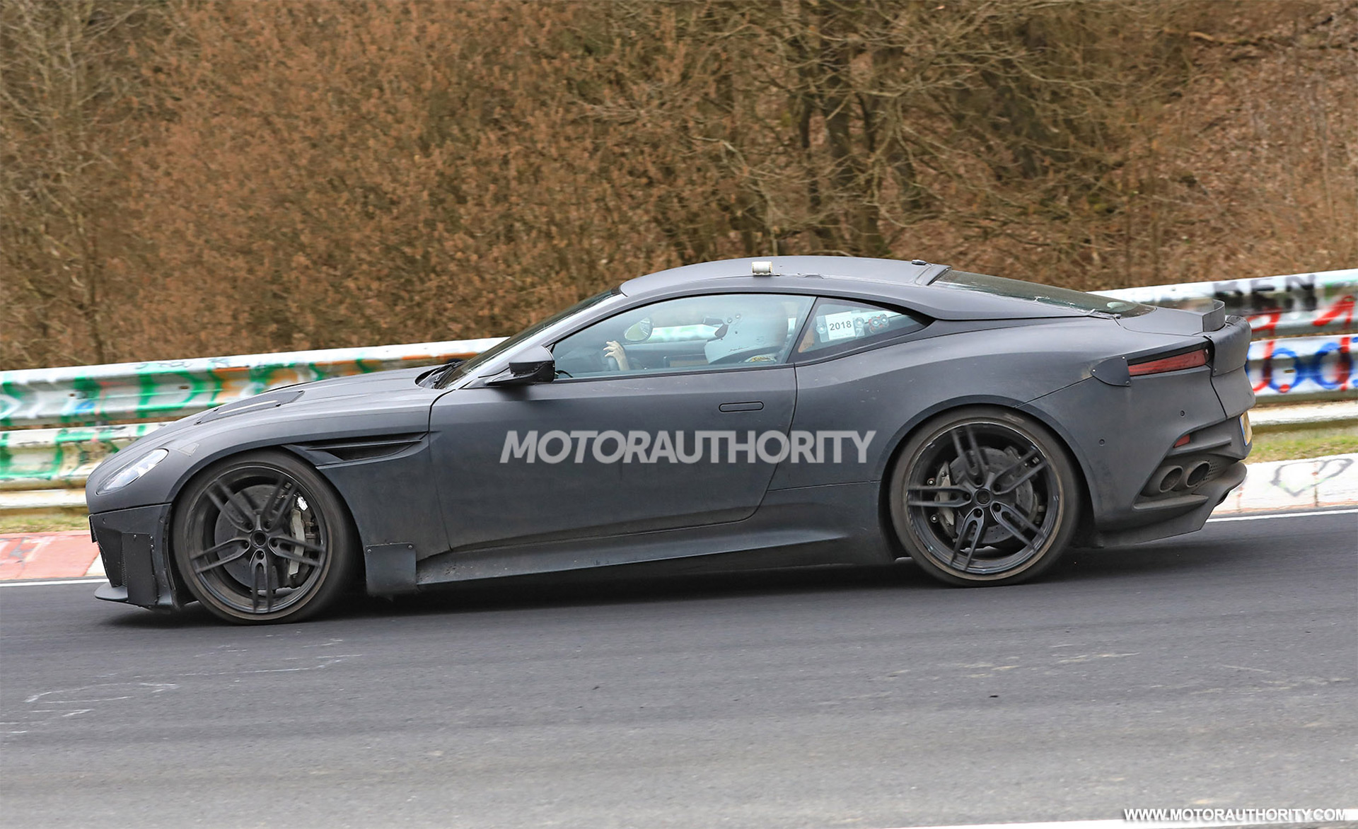 Aston Martin DBS Superleggera Spy Shots And Video - Aston martin bellevue