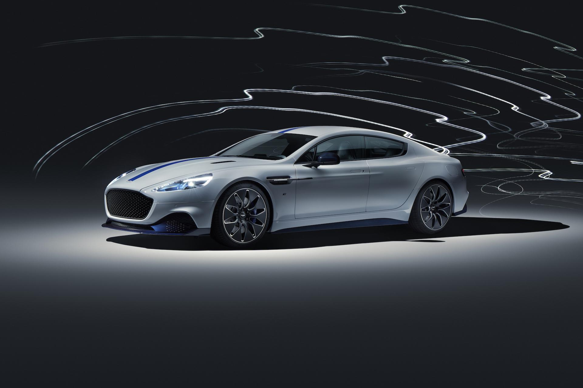 Aston Martin Rapide E electric sport sedan debuts at 2019 ...