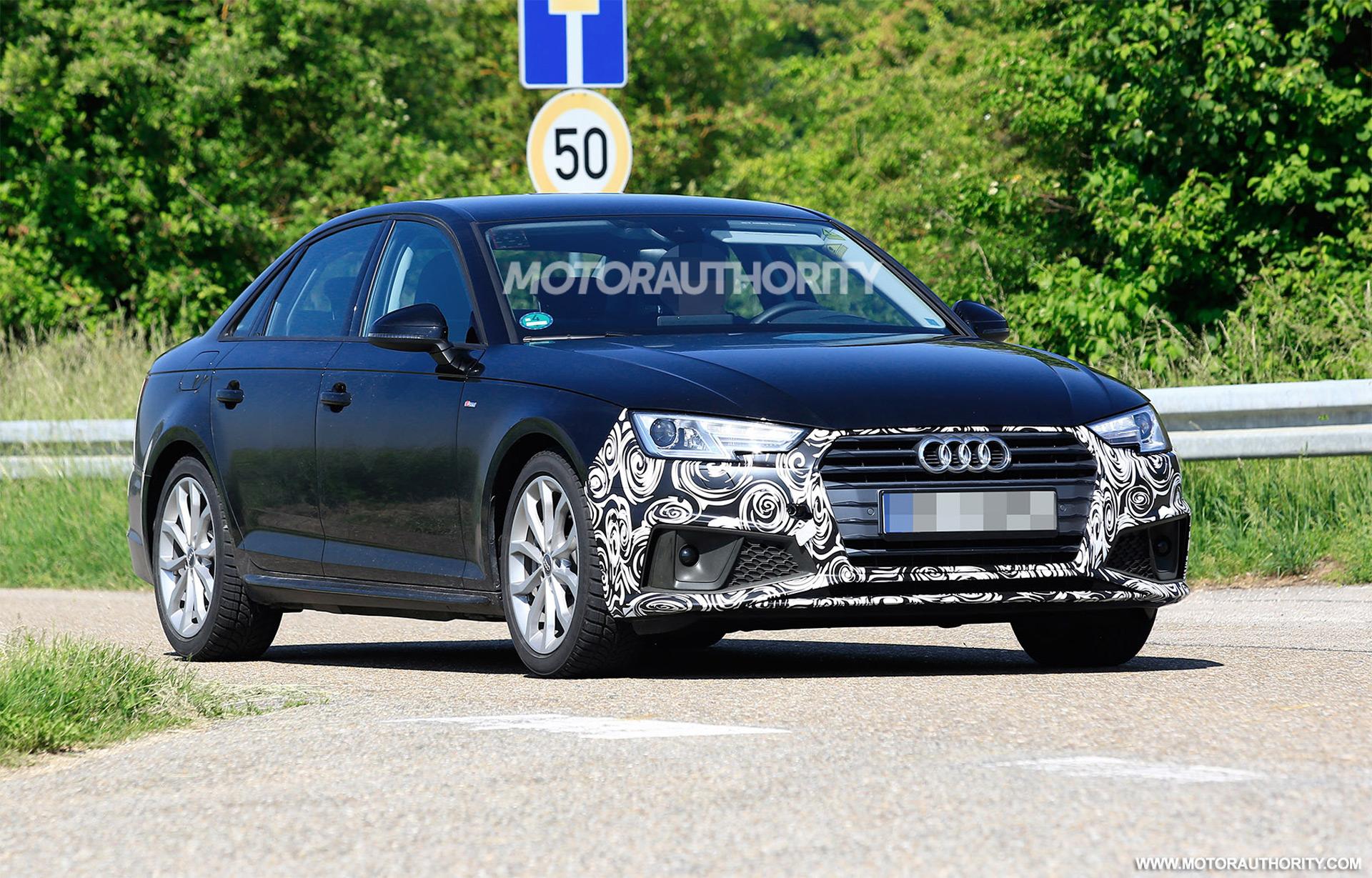 Audi A Spy Shots - Audi a4