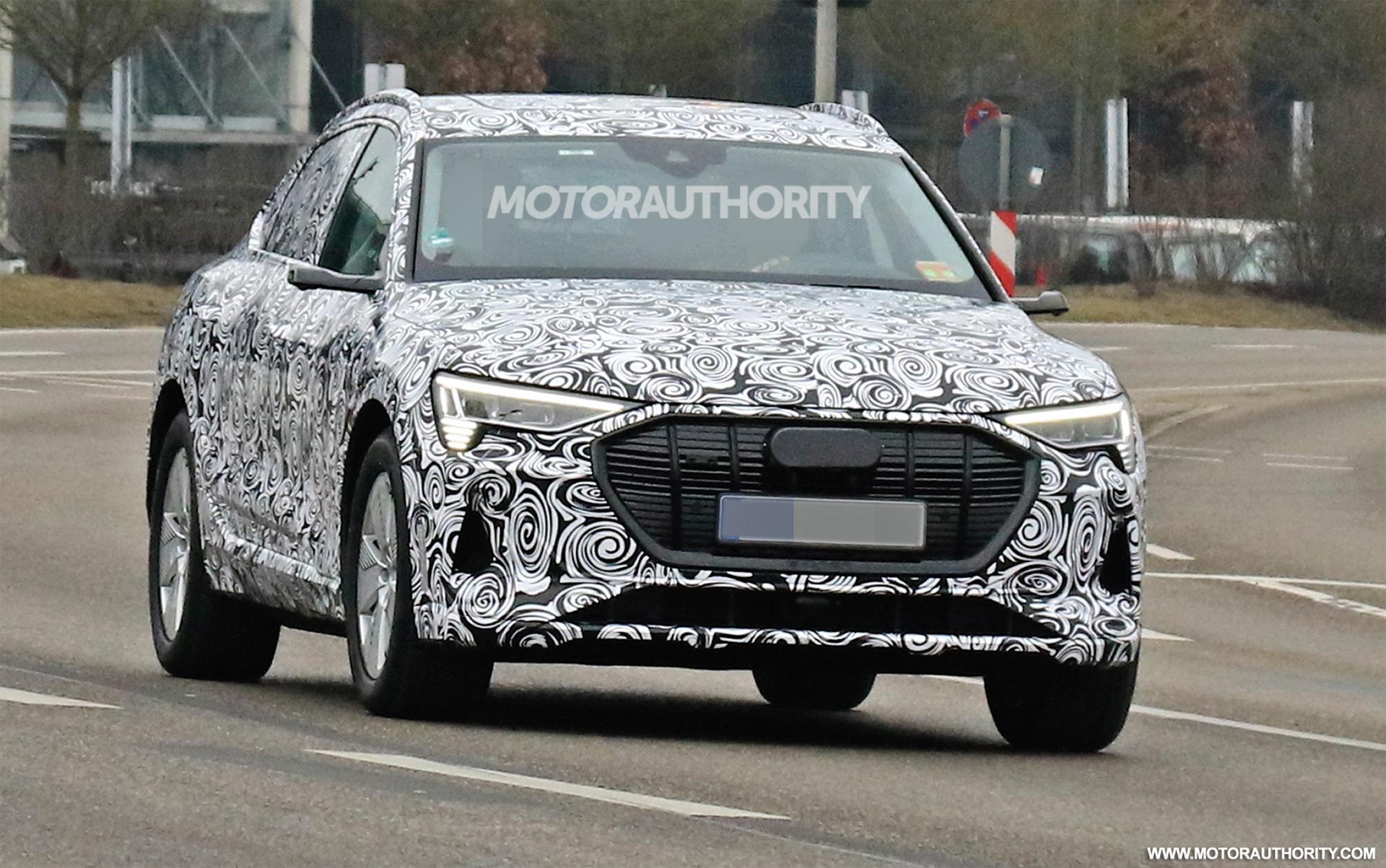 2020 Audi e-tron Sportback spy shots