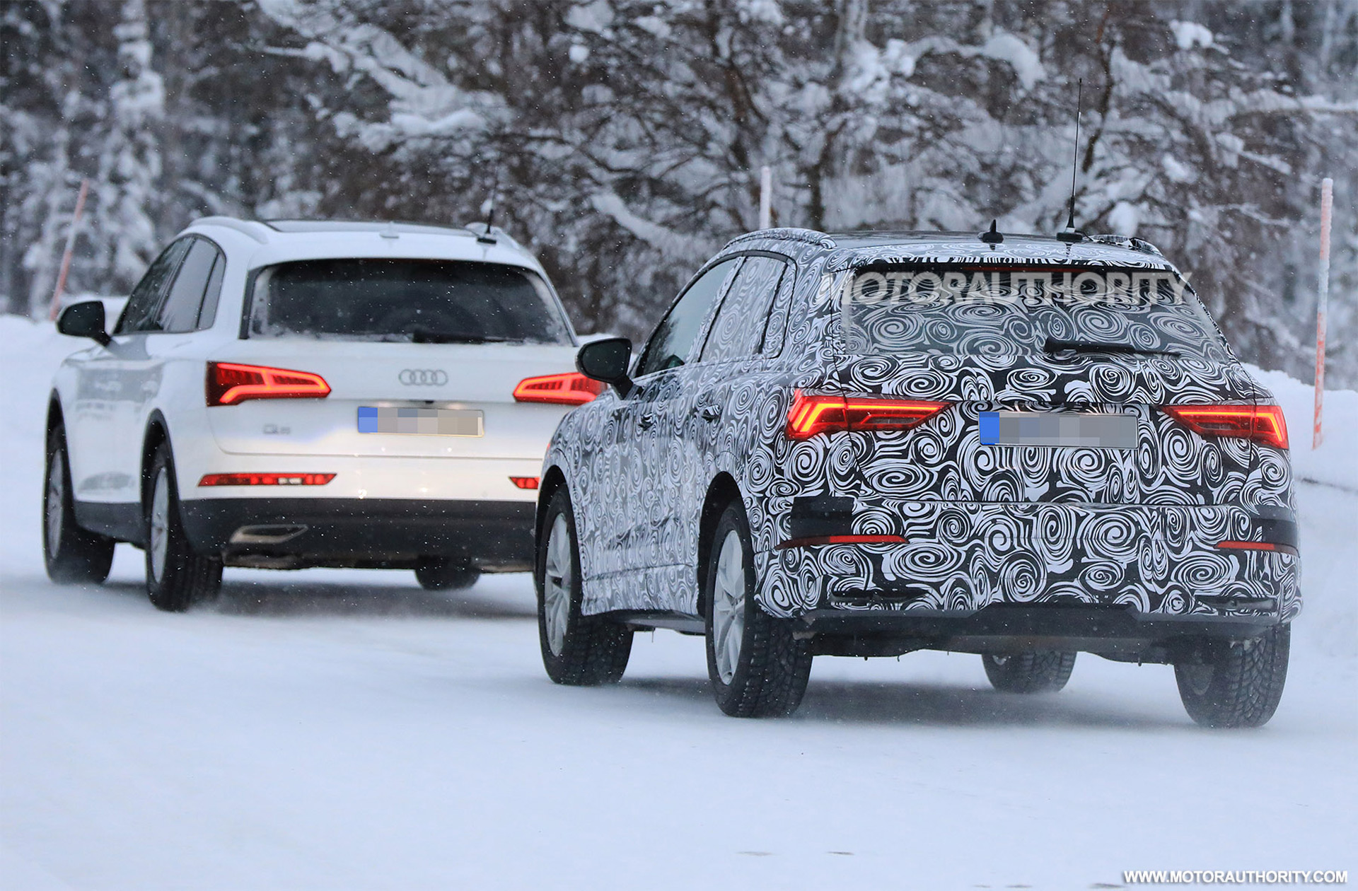 Audi Q3 Spy Shots Ferrari 488 Gto Leaked Details Mk8 Golf Production Date Car News Headlines
