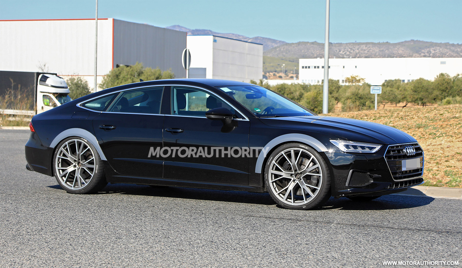 2020 Audi Rs 7 Spy Shots