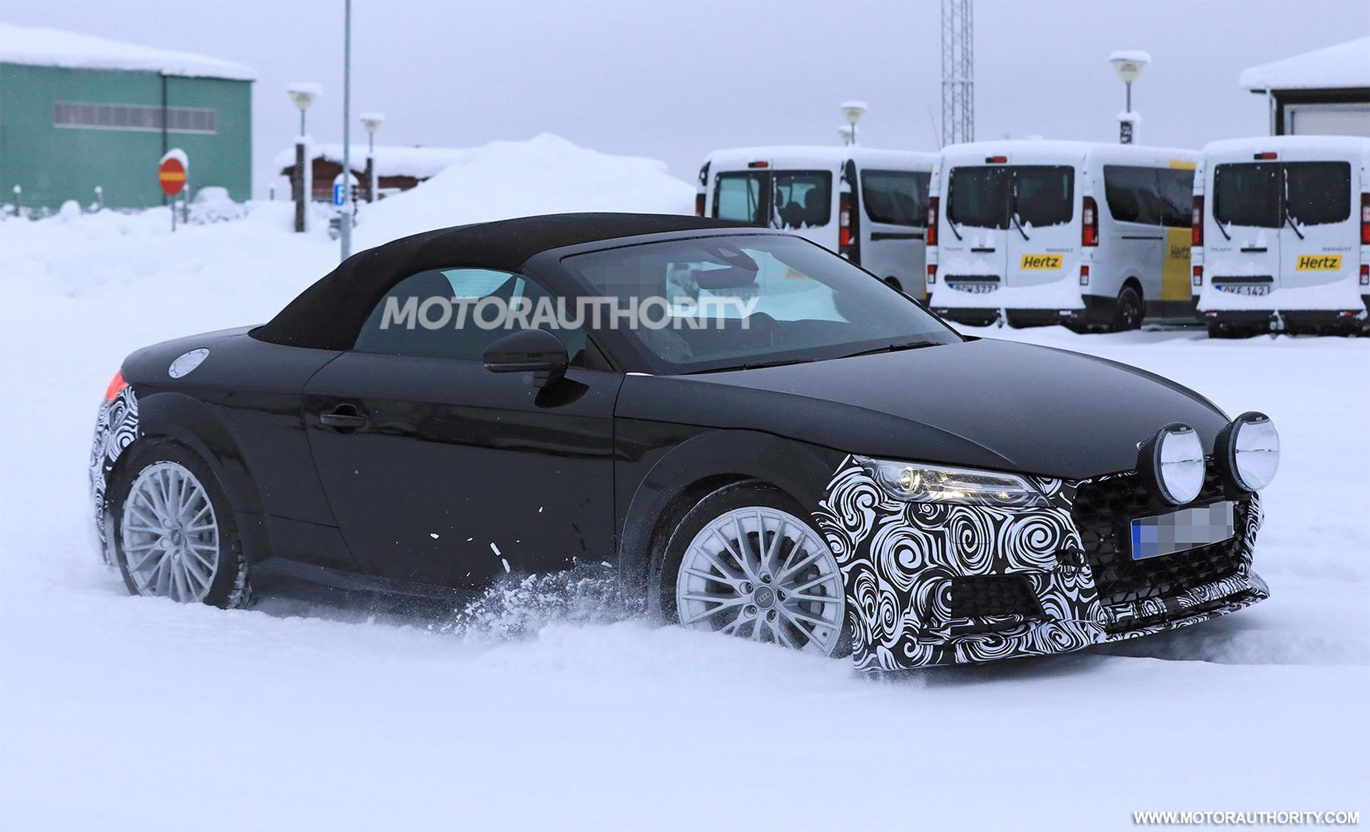 Audi TT Roadster Spy Shots - Audi tt