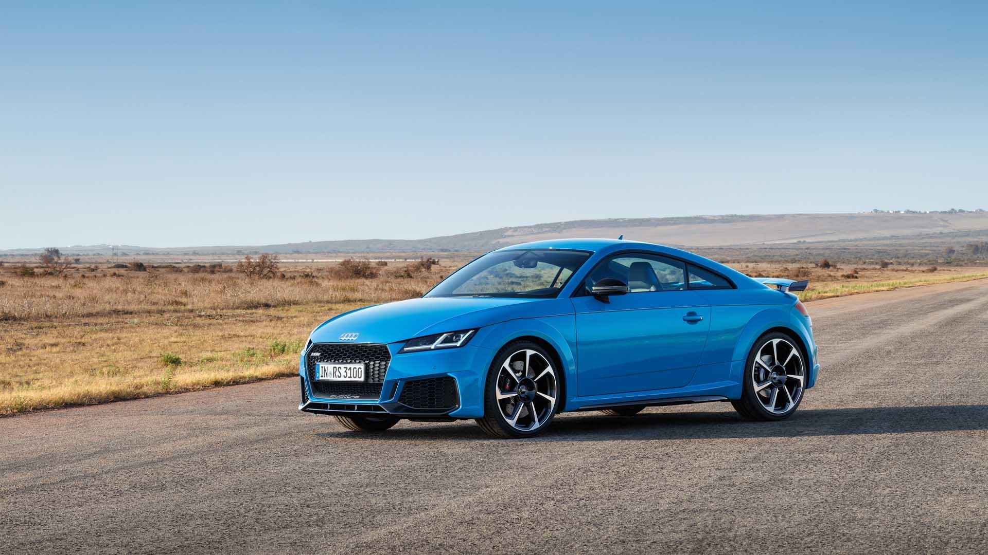 2021 Audi TT Speed Test