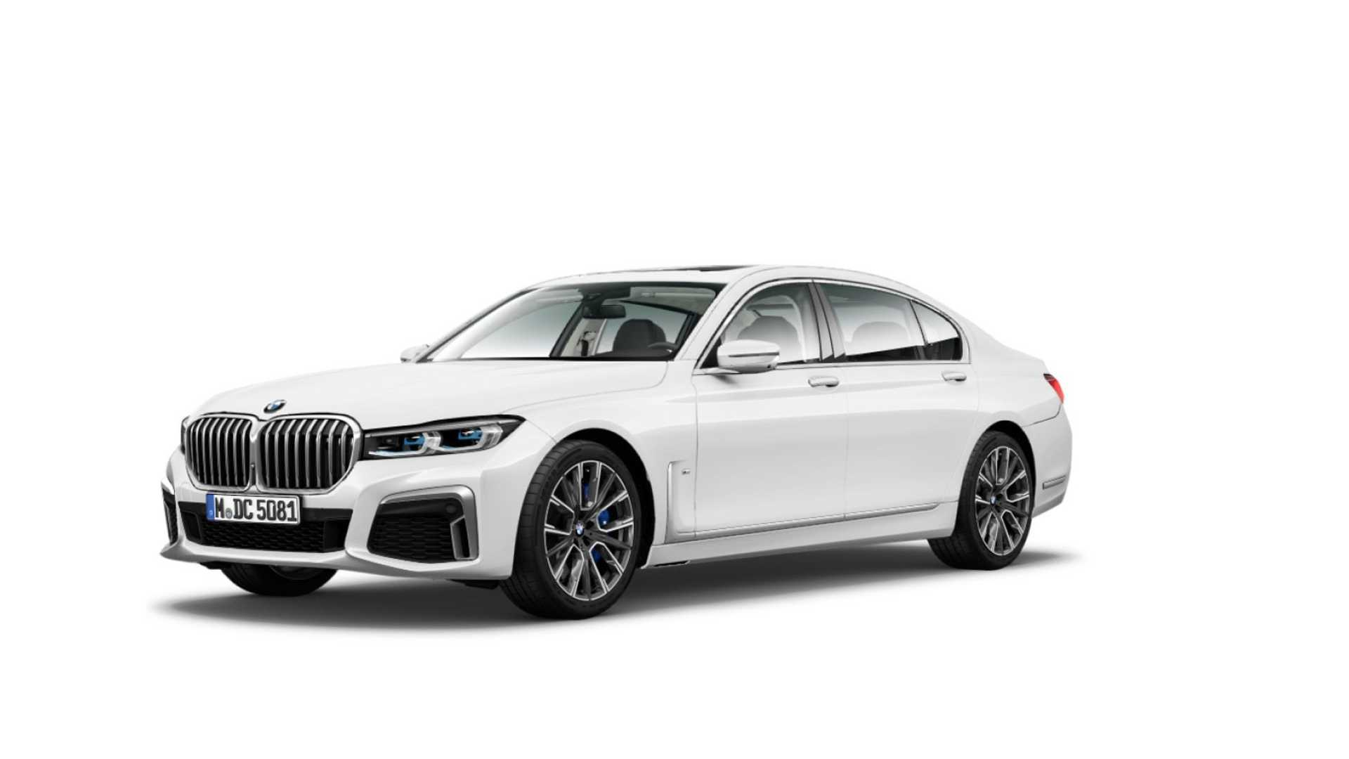 2020 Bmw 7 Series Leaked Distinctive Styling On The Menu For Flagship Sedan