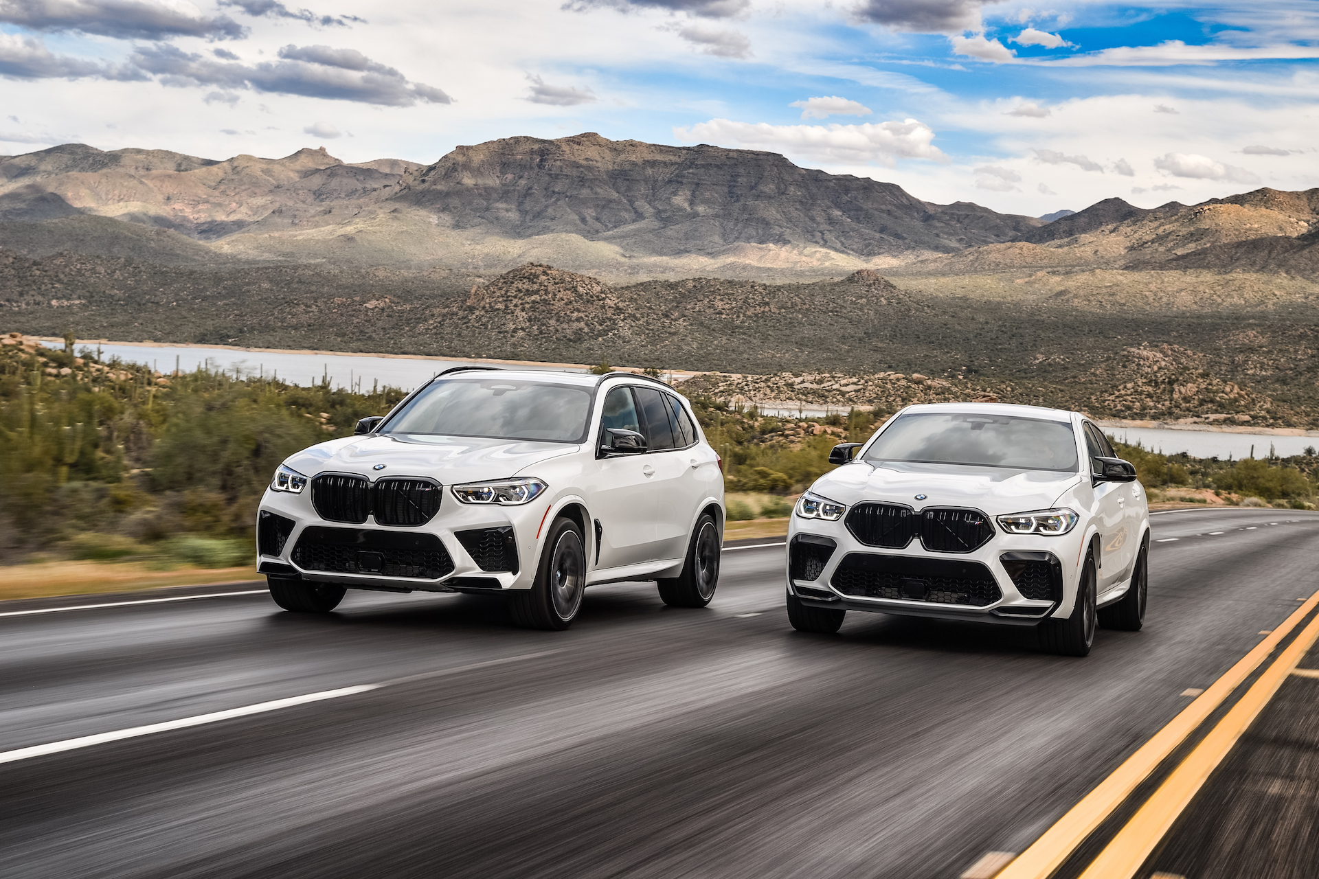 First Drive Review 2020 Bmw X5 M And X6 M Are Beasts In Search Of A Track