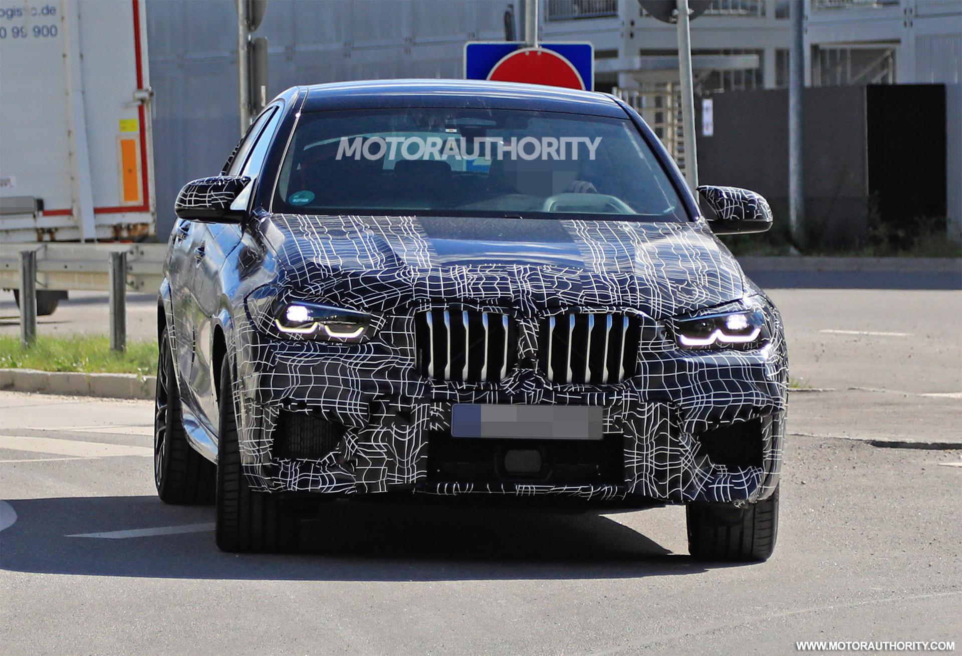 2020 Bmw X6 M Spy Shots And Video
