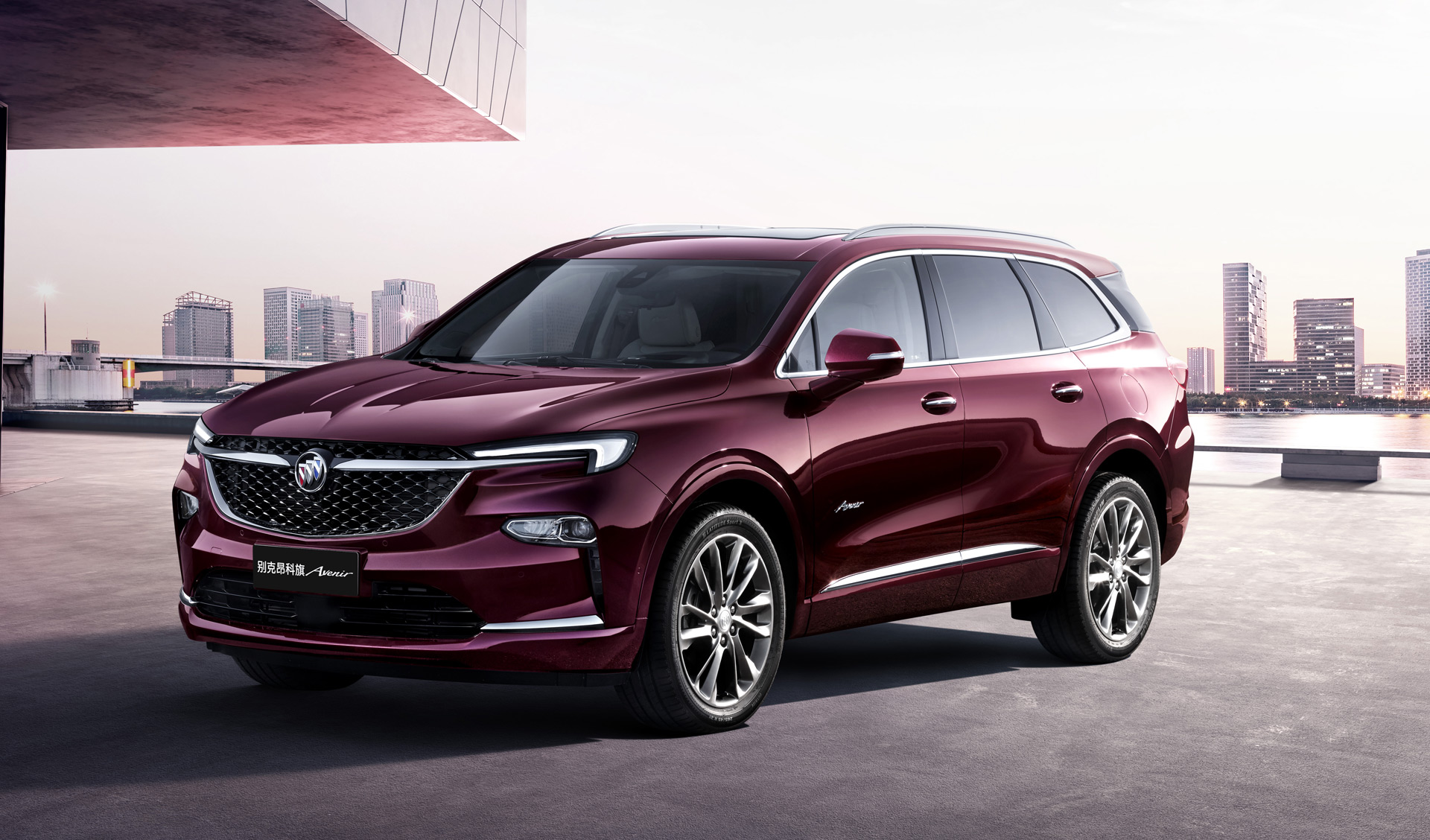 Mystery Buick 3-row crossover revealed as Chinese-market Enclave