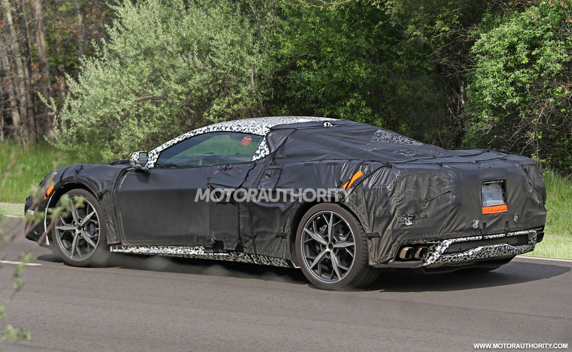 C8 Corvette Spied Mustang Gt Performance Pack 2 Tested