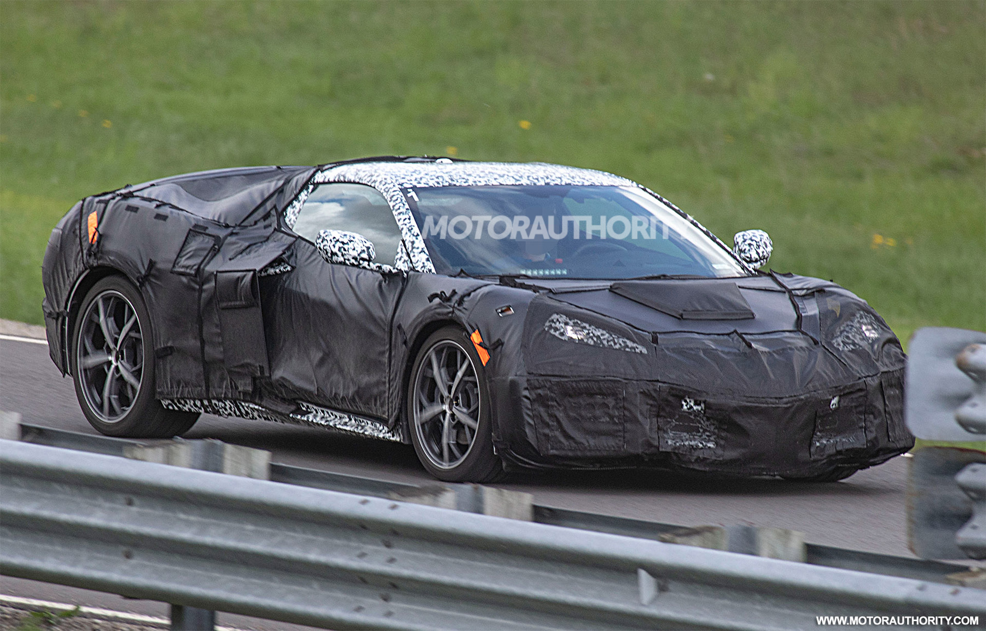 Report: mid-engine C8 Corvette to get flat-crank 600- and 800-hp V-8s, 1,000-hp AWD hybrid ...